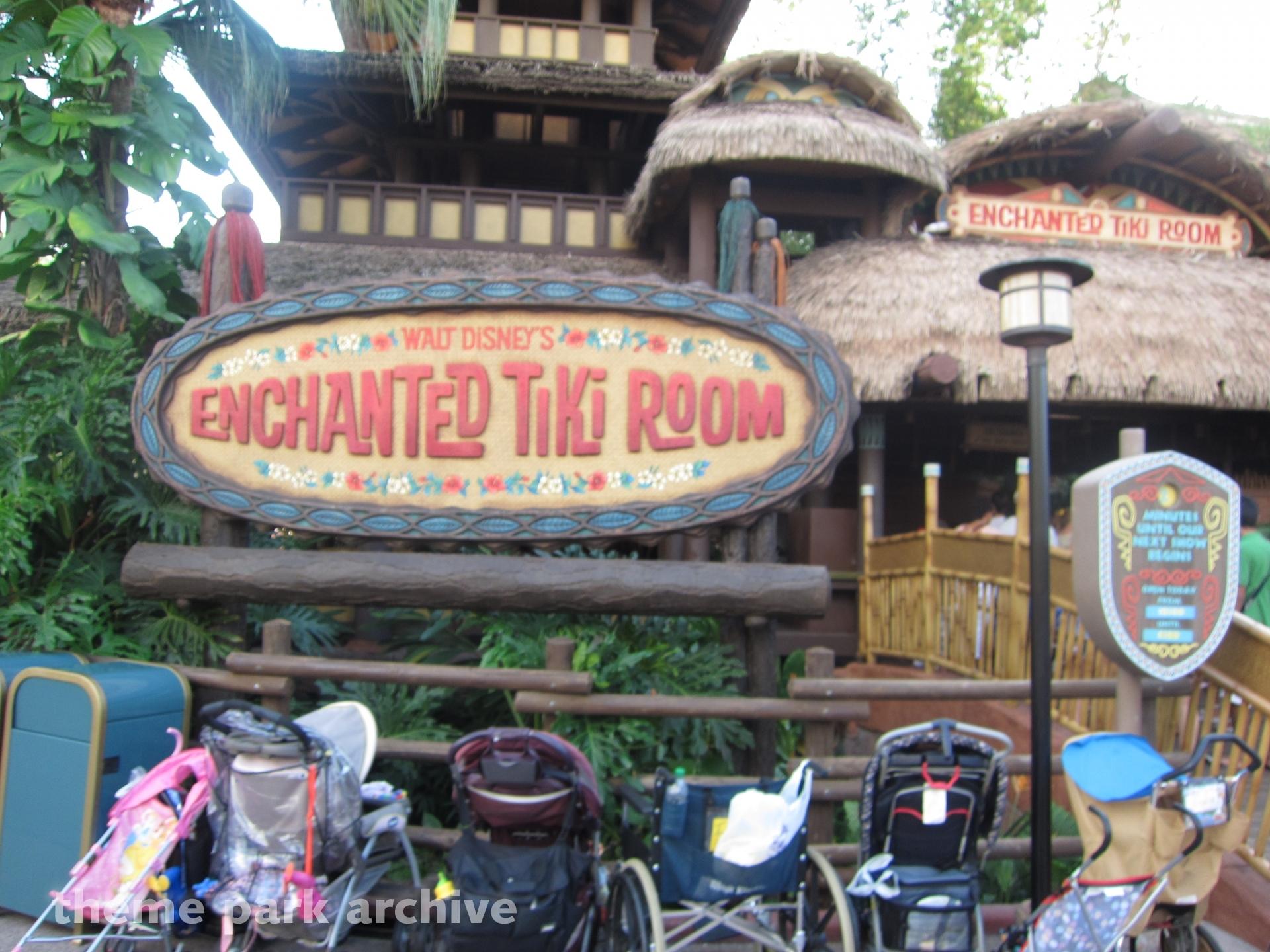 Enchanted Tiki Room at Magic Kingdom