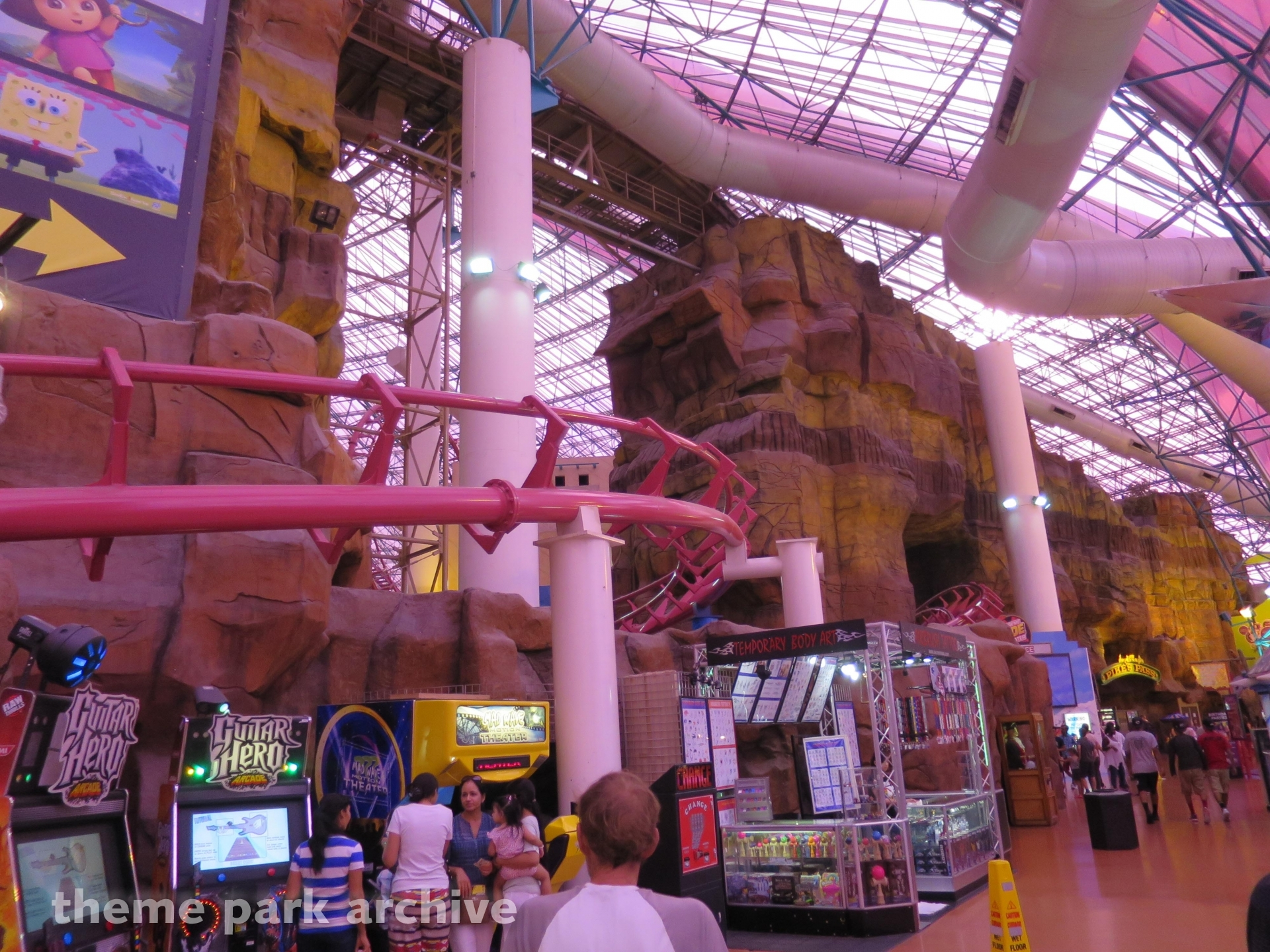Canyon Blaster at Adventuredome