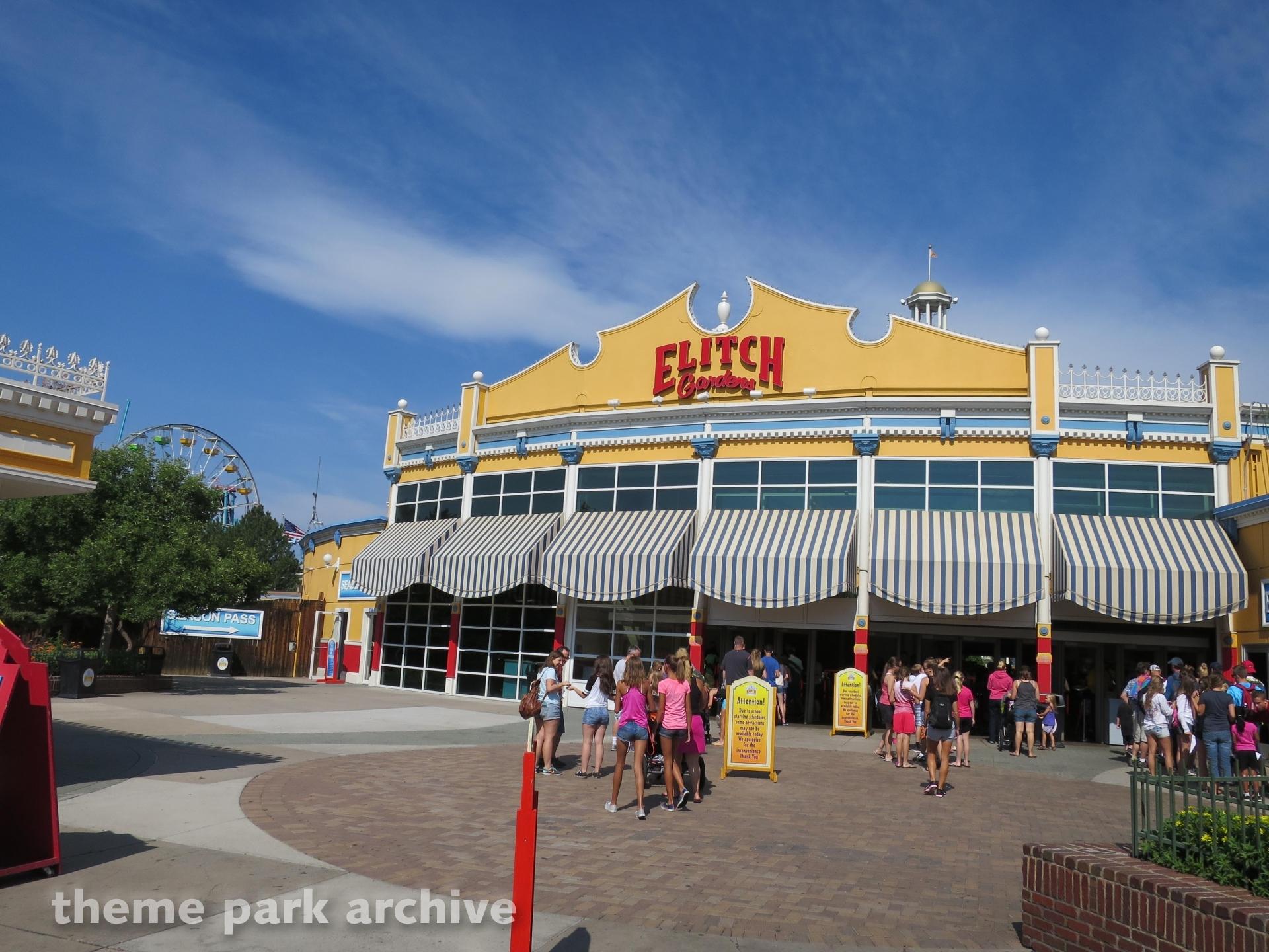 Entrance at Elitch Gardens
