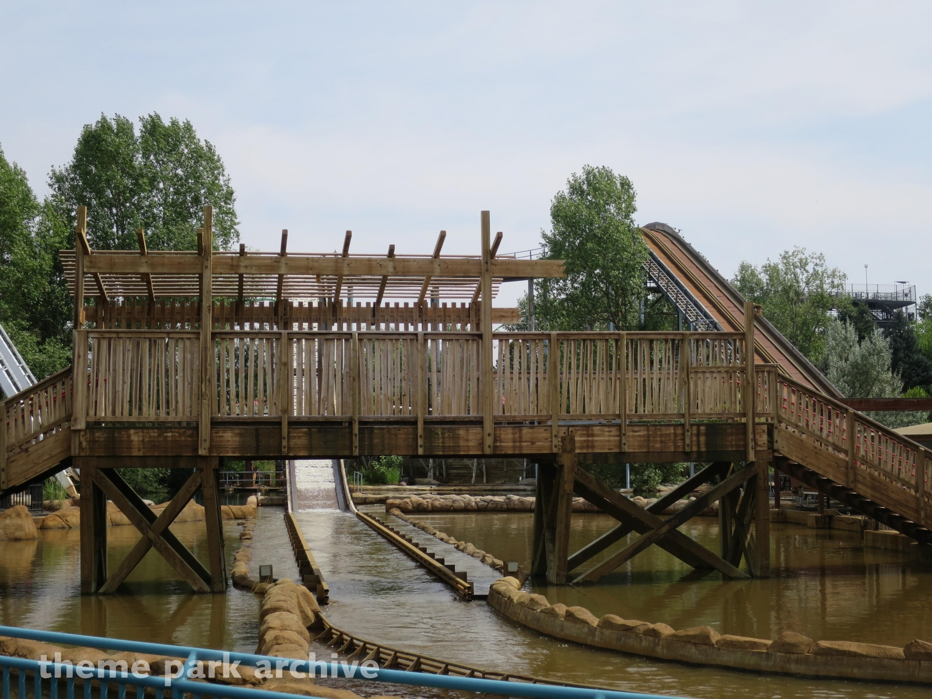 Shipwreck Falls at Elitch Gardens | Theme Park Archive