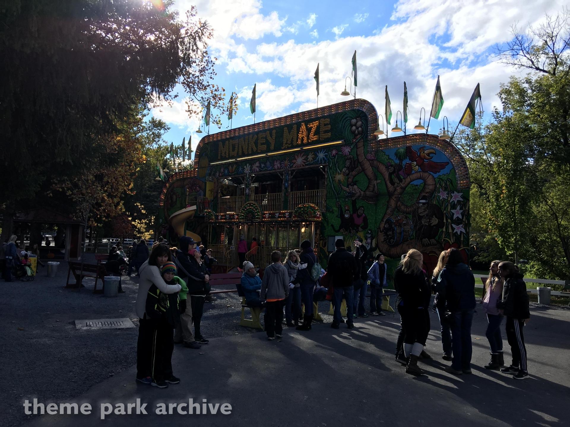 Monkey Maze at Knoebels Amusement Resort