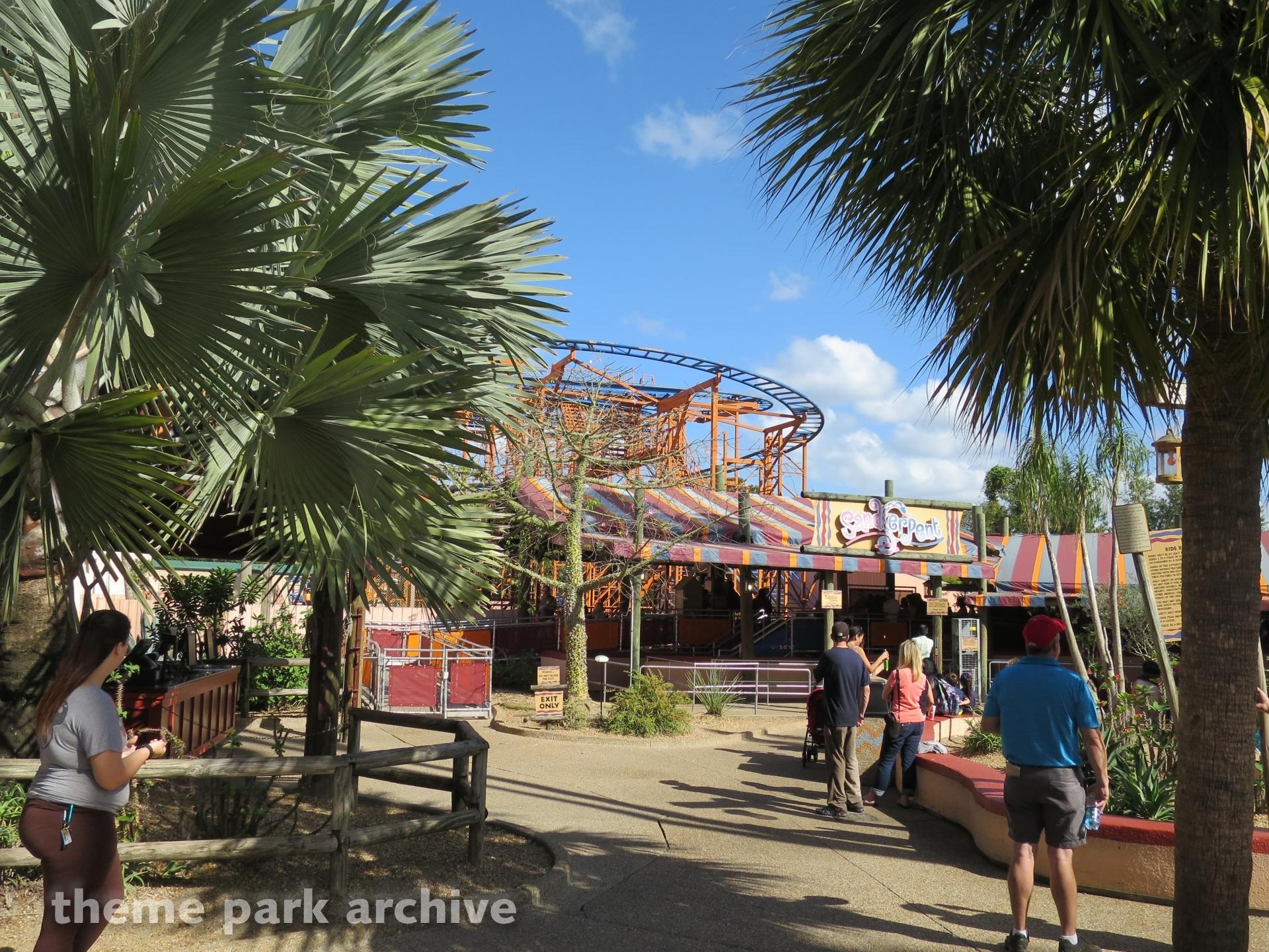 SandSerpent at Busch Gardens Tampa