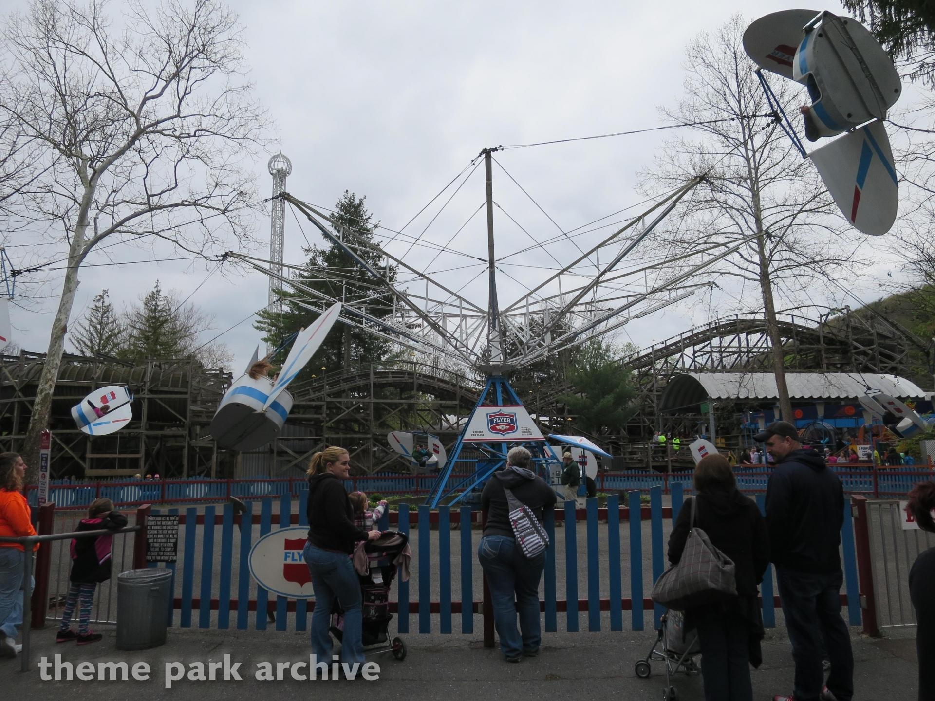 Flyer at Knoebels Amusement Resort