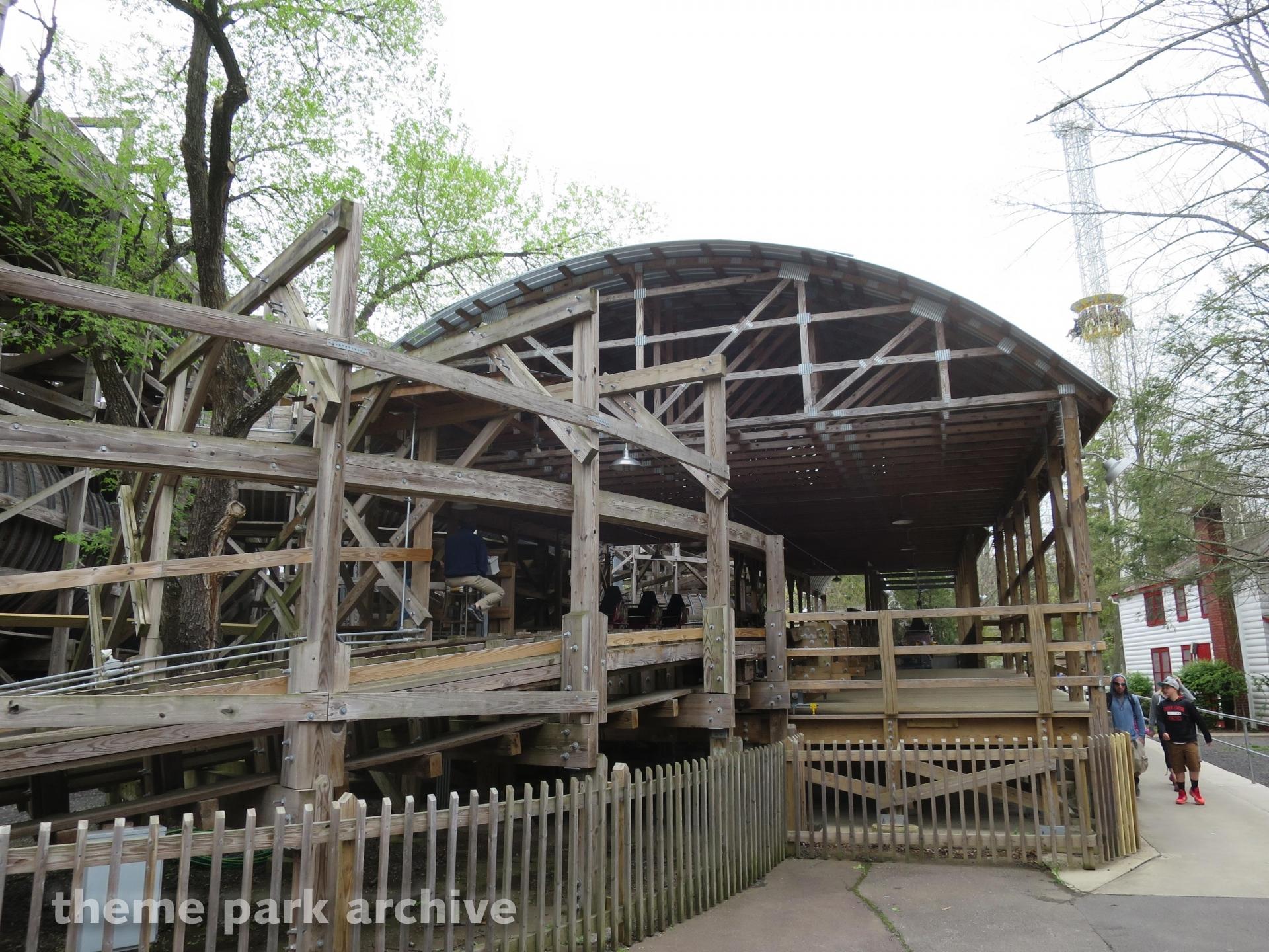 Flying Turns at Knoebels Amusement Resort