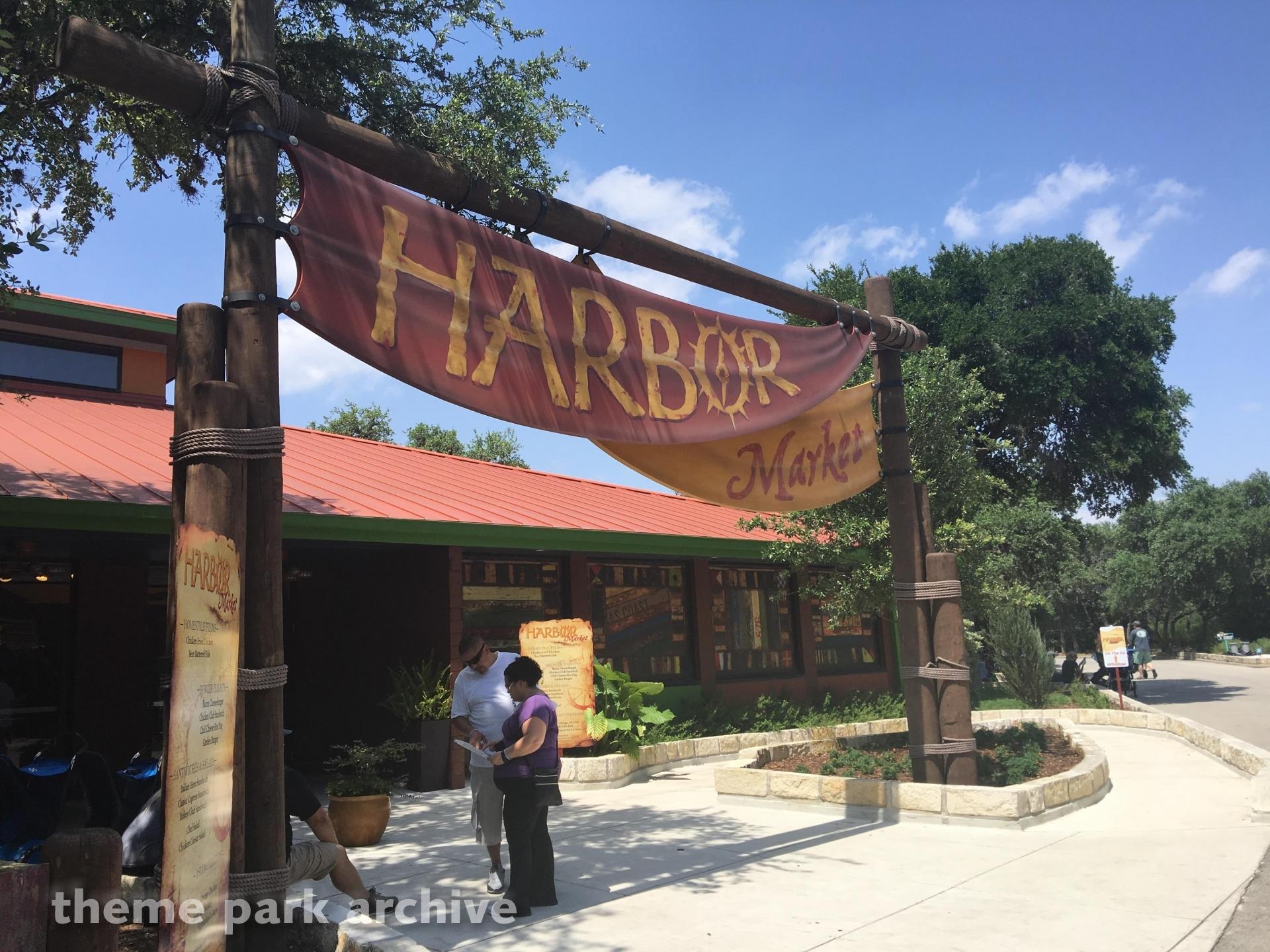 Harbor Market at SeaWorld San Antonio