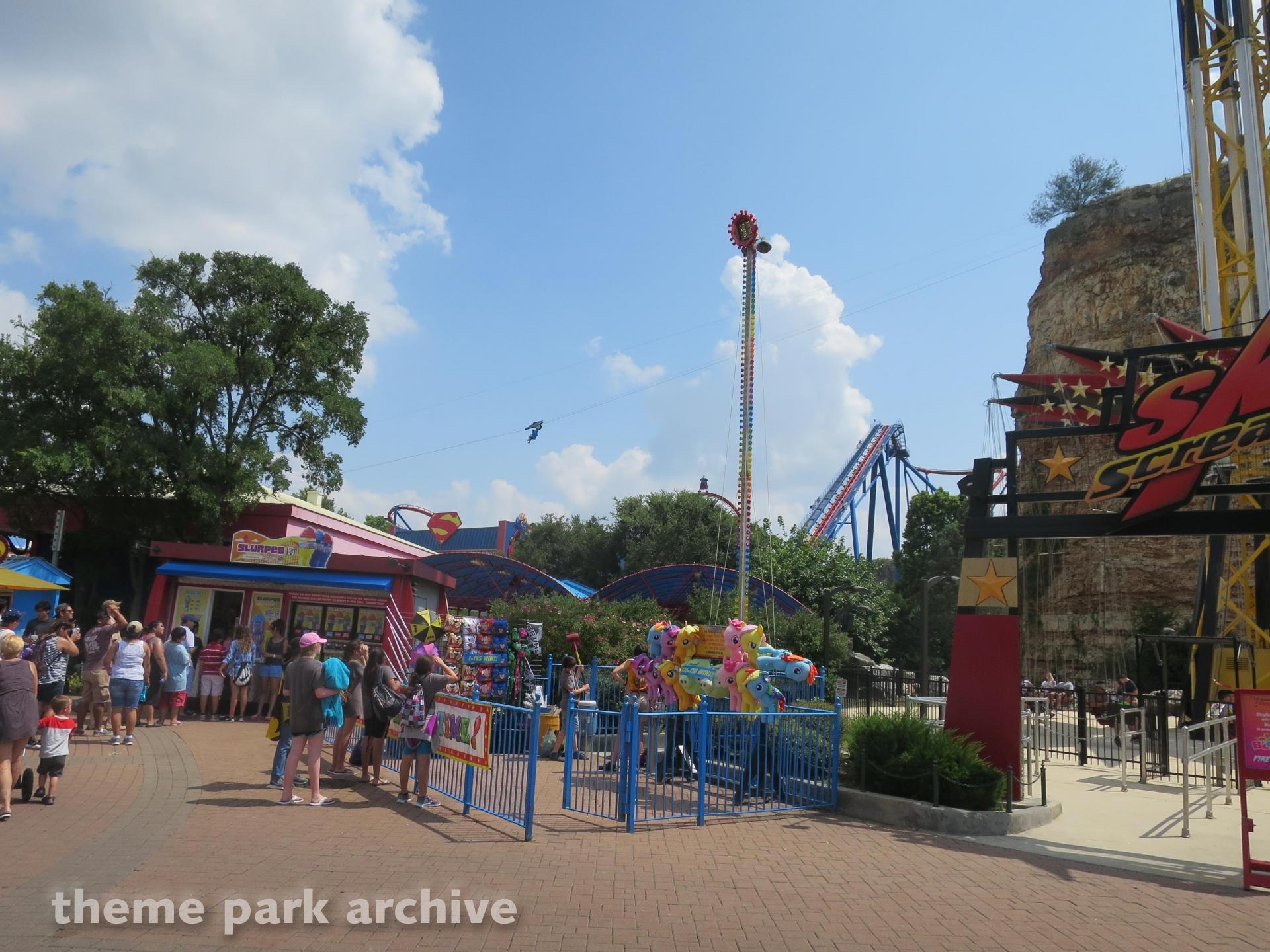 Sky Screamer at Six Flags Fiesta Texas
