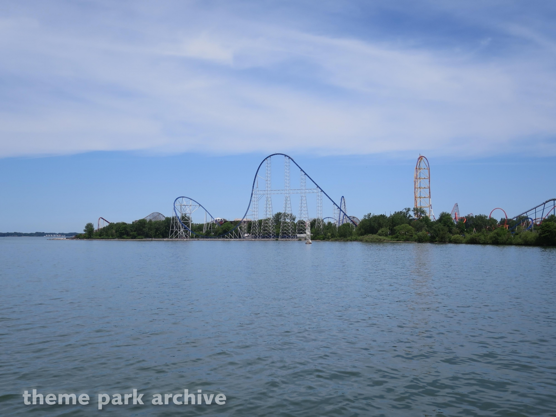 Millennium Force at Cedar Point