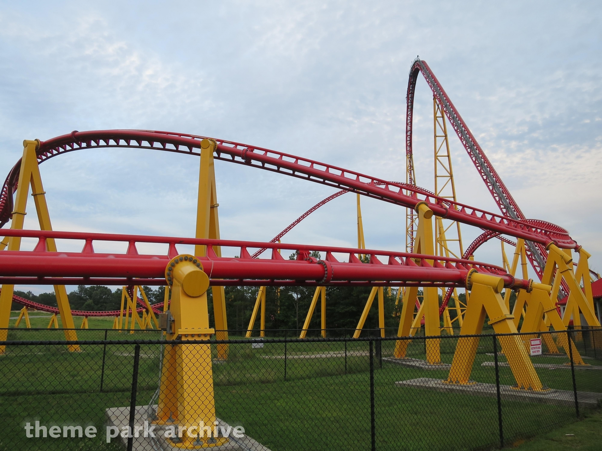 Intimidator 305 at Kings Dominion | Theme Park Archive