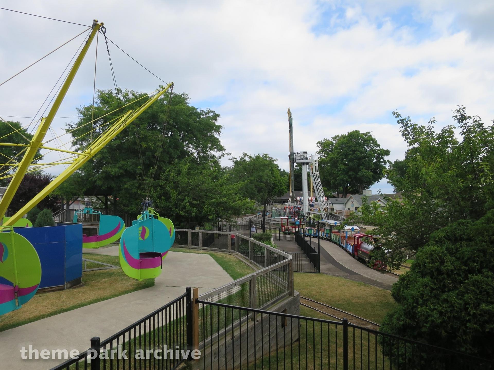 Scenic Train at Seabreeze Amusement Park