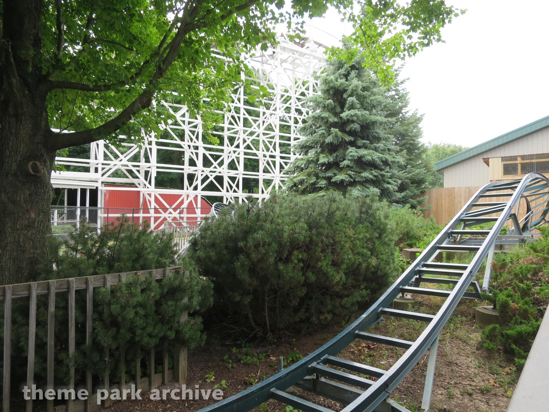 Bear Trax at Seabreeze Amusement Park