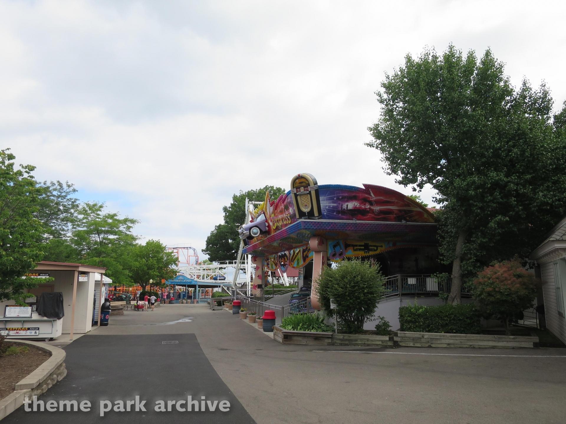 Music Express at Seabreeze Amusement Park