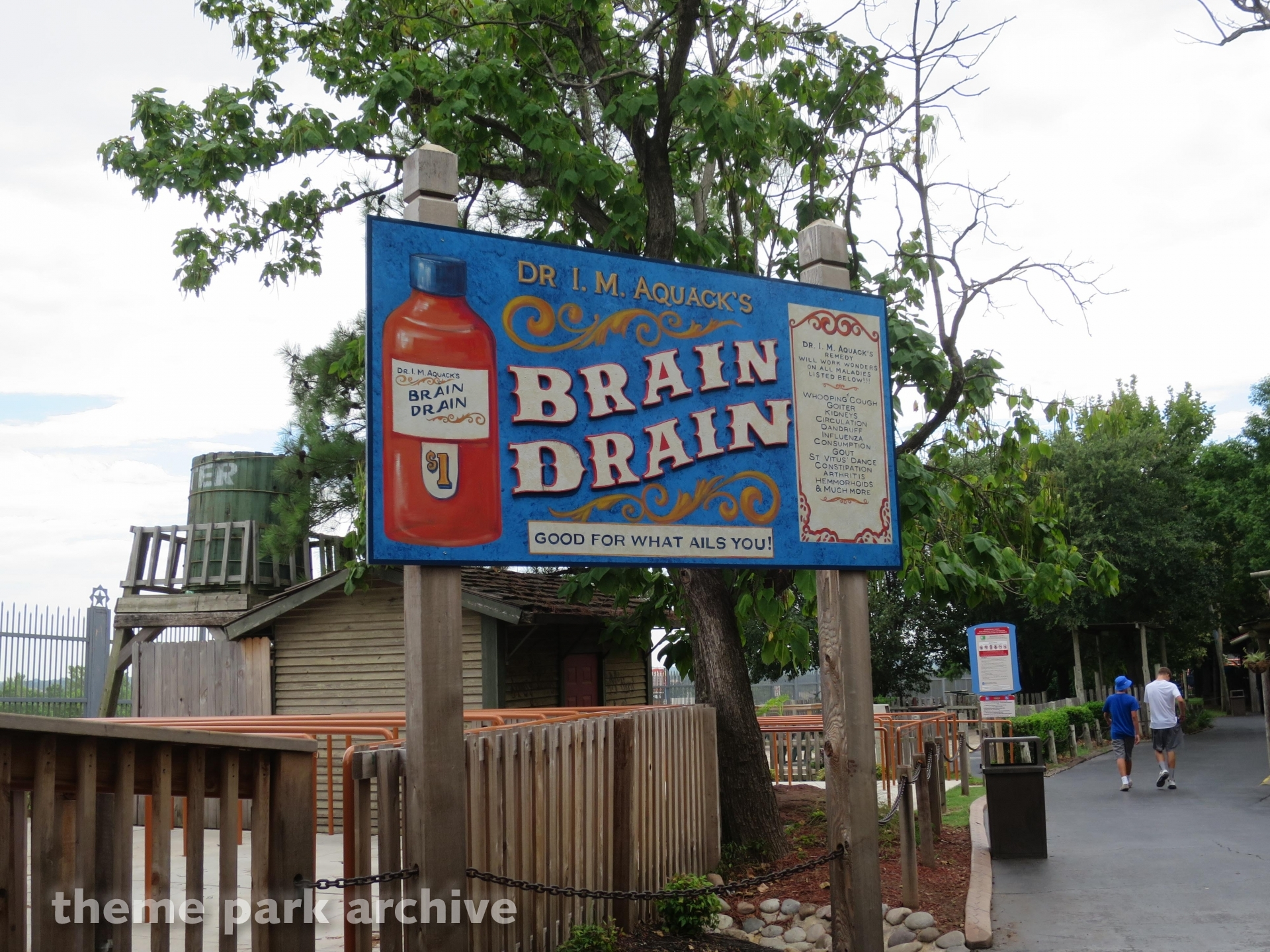 Brain Drain at Frontier City