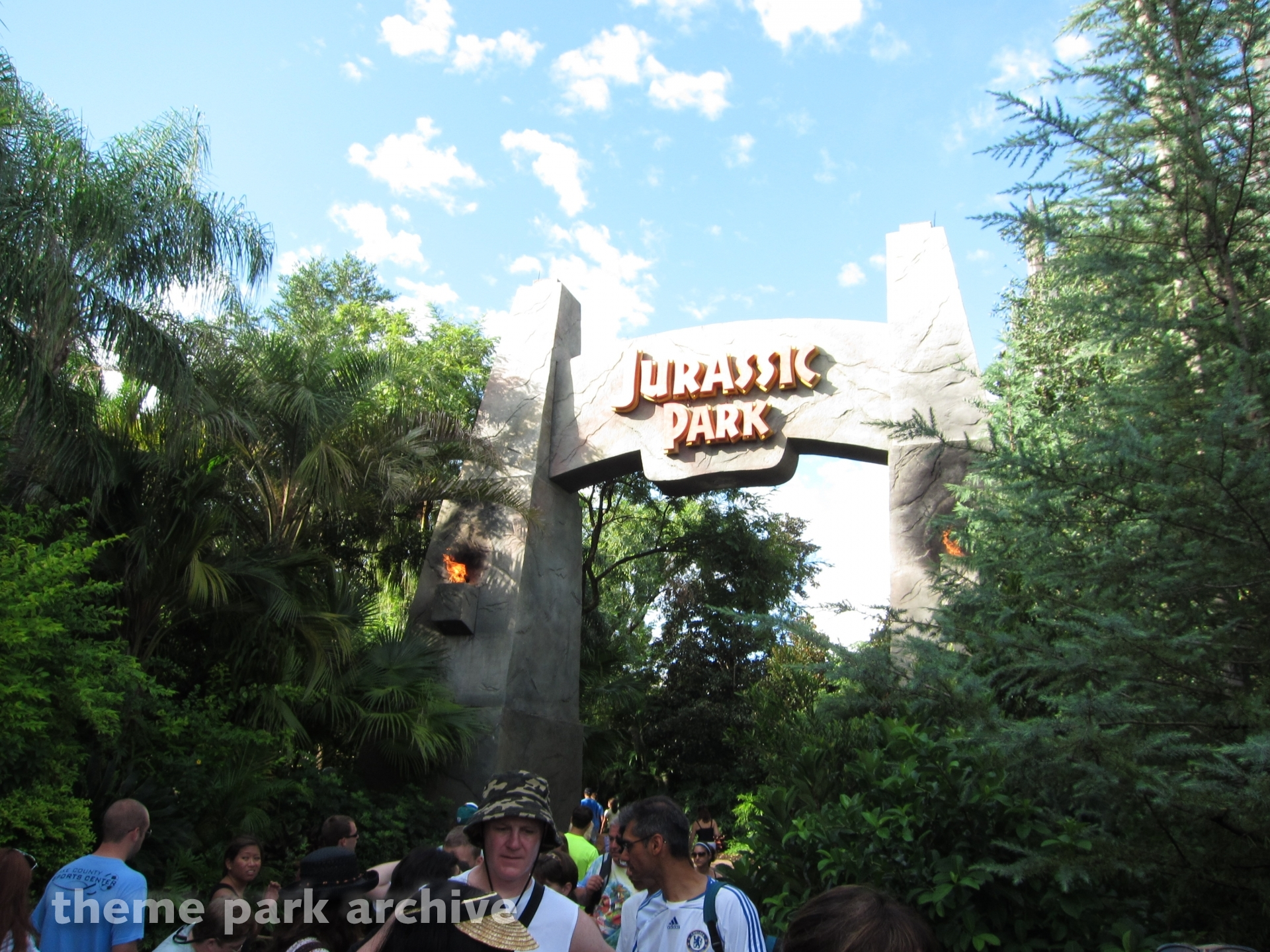 Jurassic Park at Universal Islands of Adventure