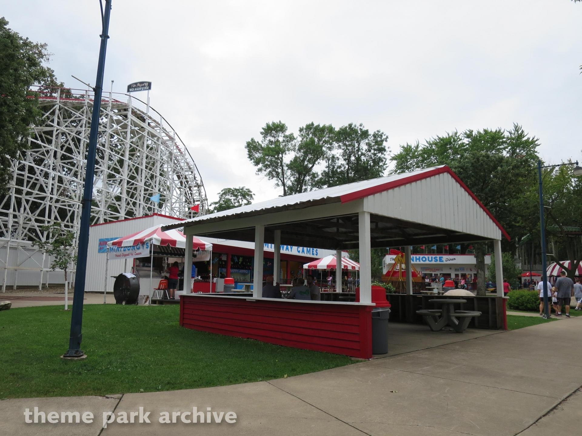 Roller Coaster at Arnolds Park