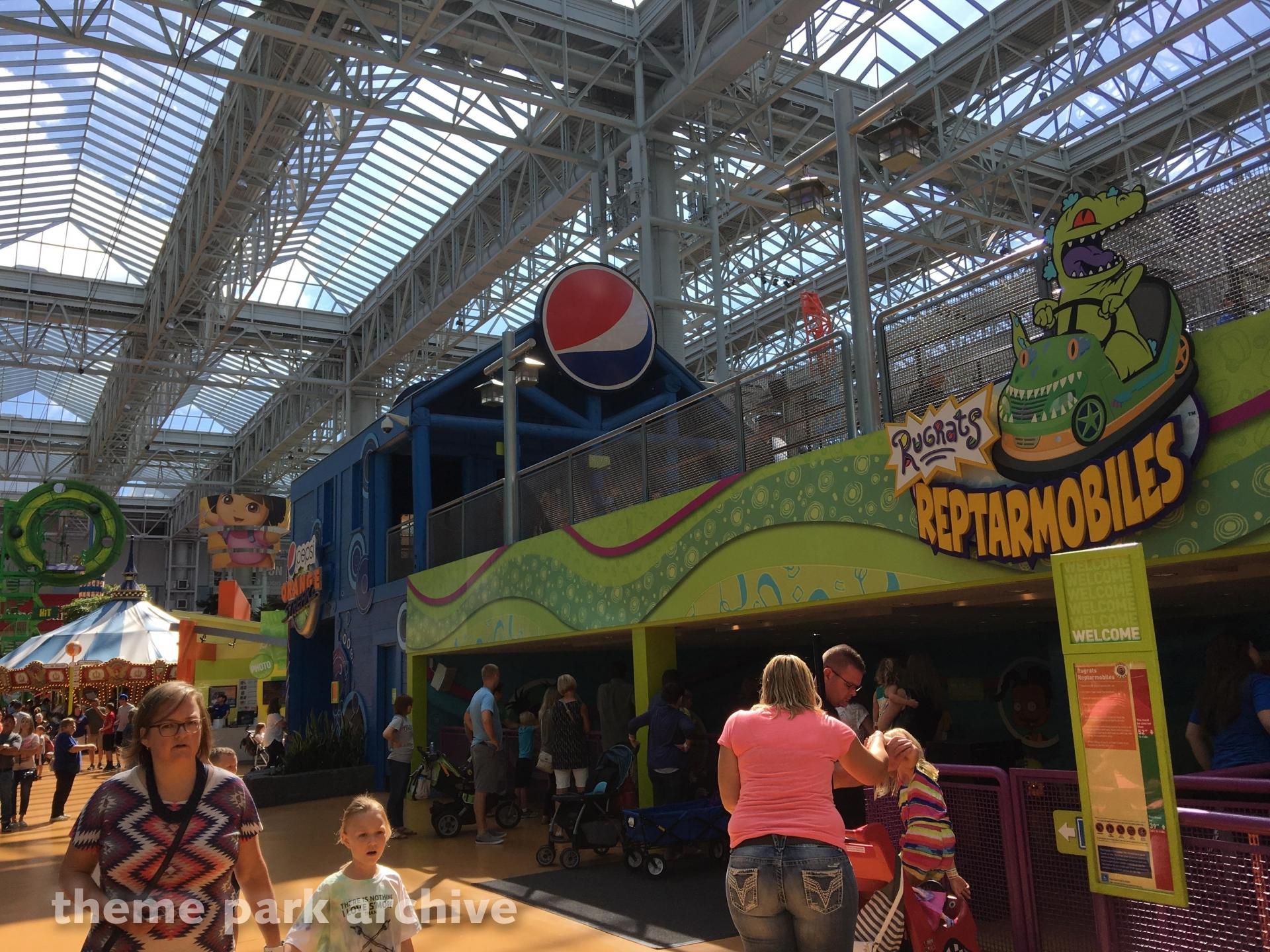 Rugrats Reptarmobiles at Nickelodeon Universe at Mall of America