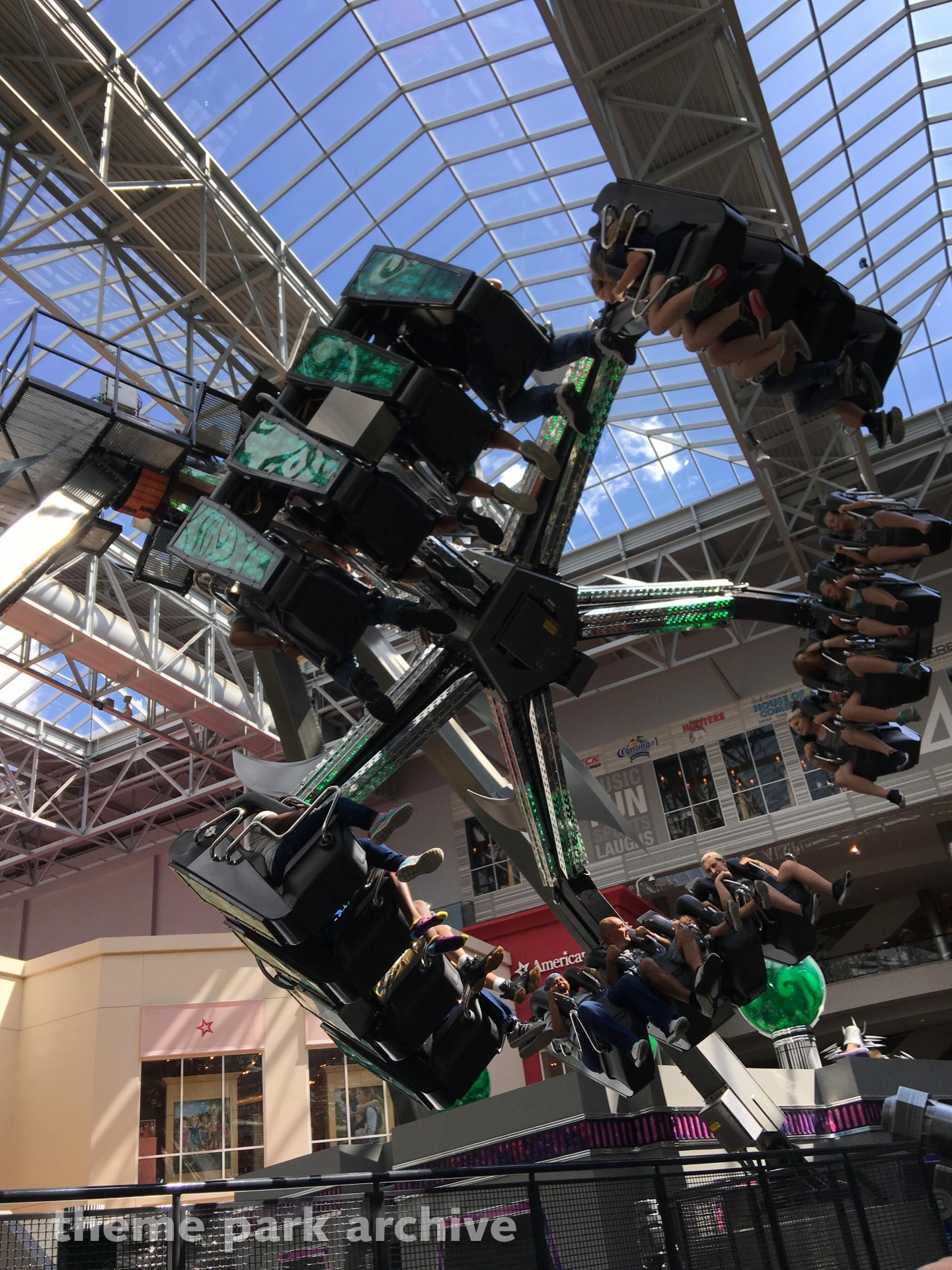 Shredder's Mutant Masher at Nickelodeon Universe at Mall of America