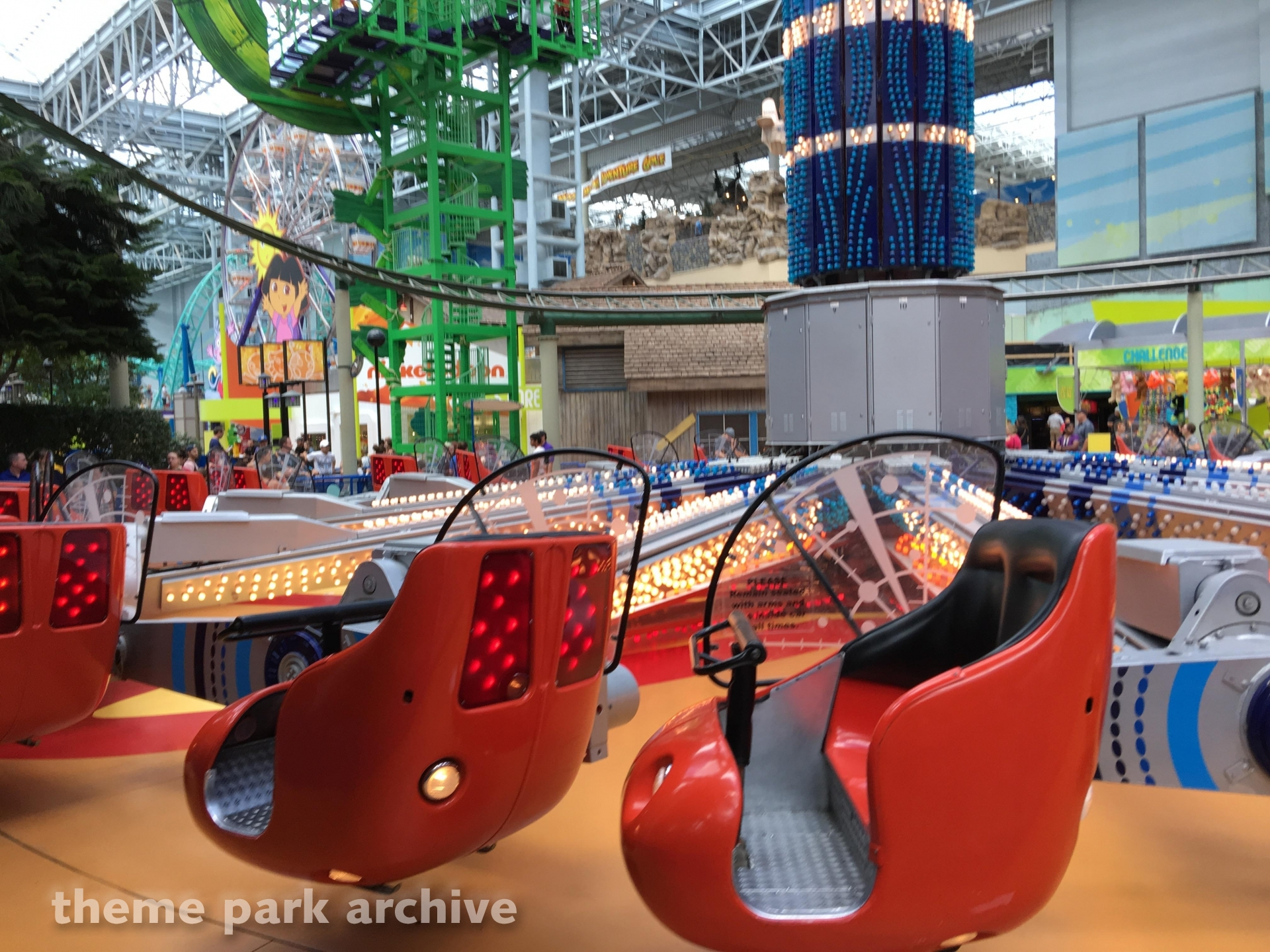 Jimmy Neutron's Atomic Collider at Nickelodeon Universe at Mall of America