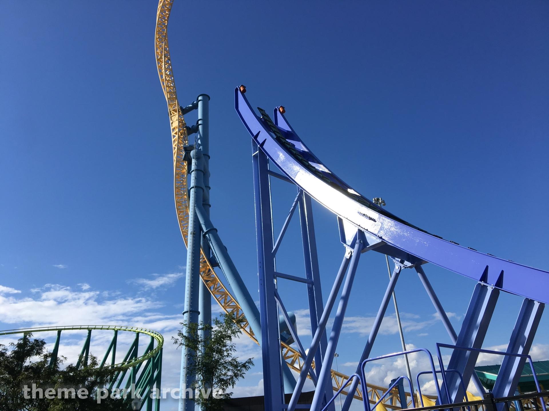 Steel Venom at Valleyfair