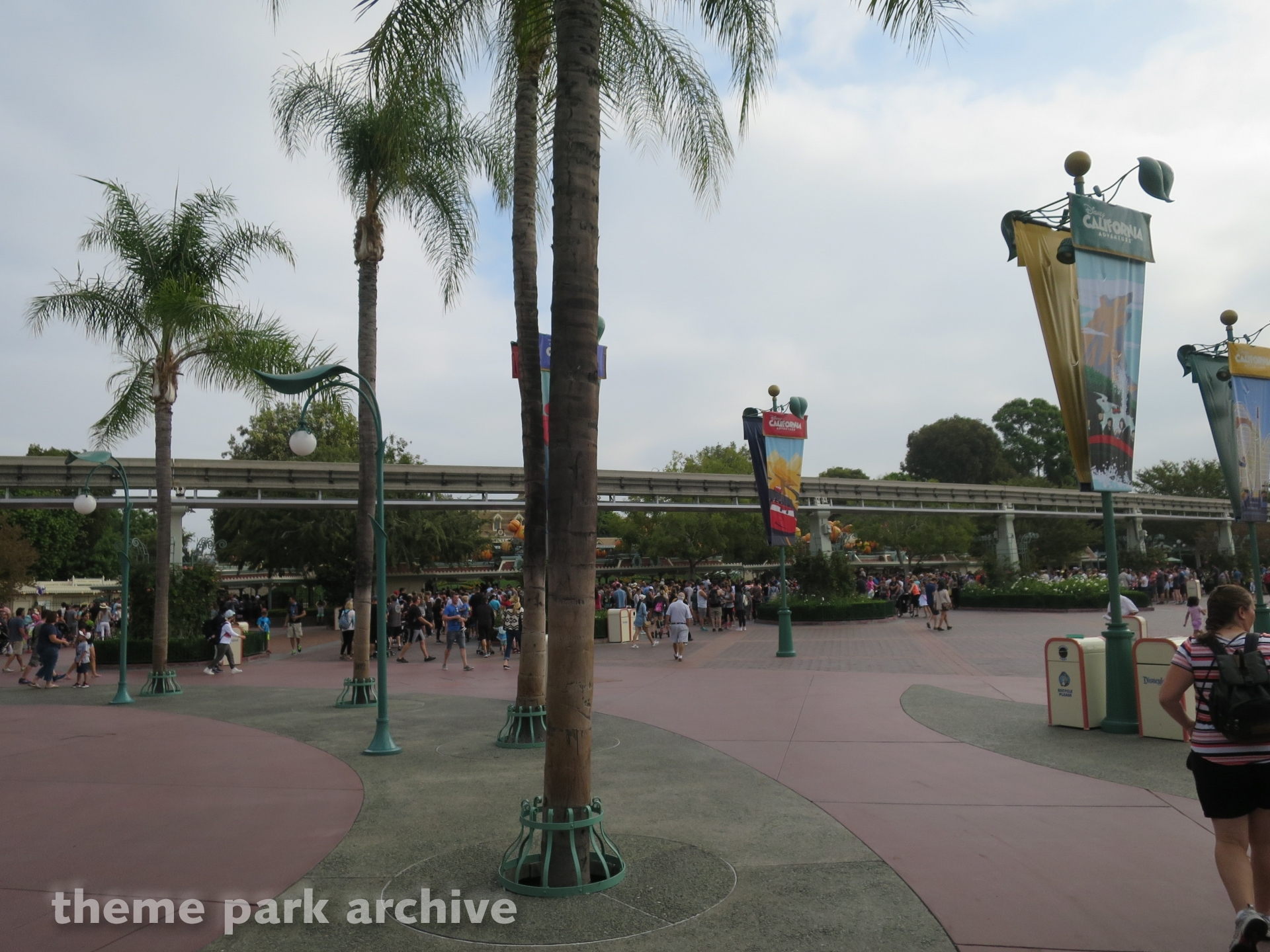 Esplanade at Downtown Disney Anaheim