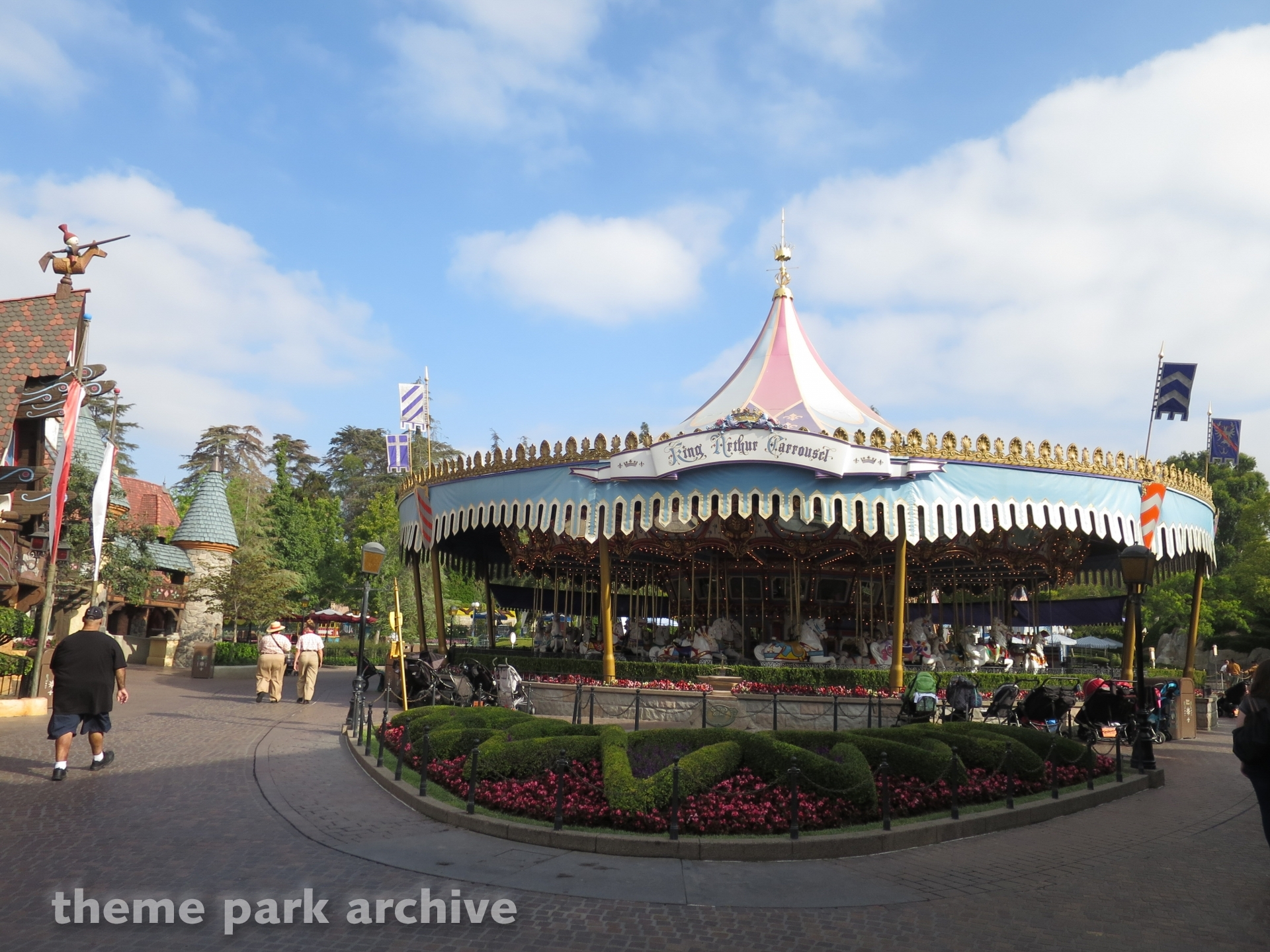 King Arthur Carousel at Disneyland
