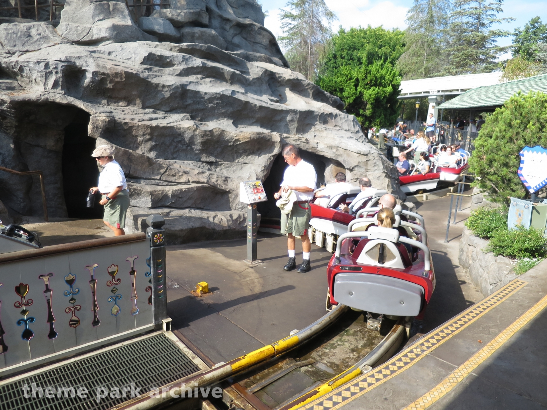 Matterhorn Bobsleds at Disneyland