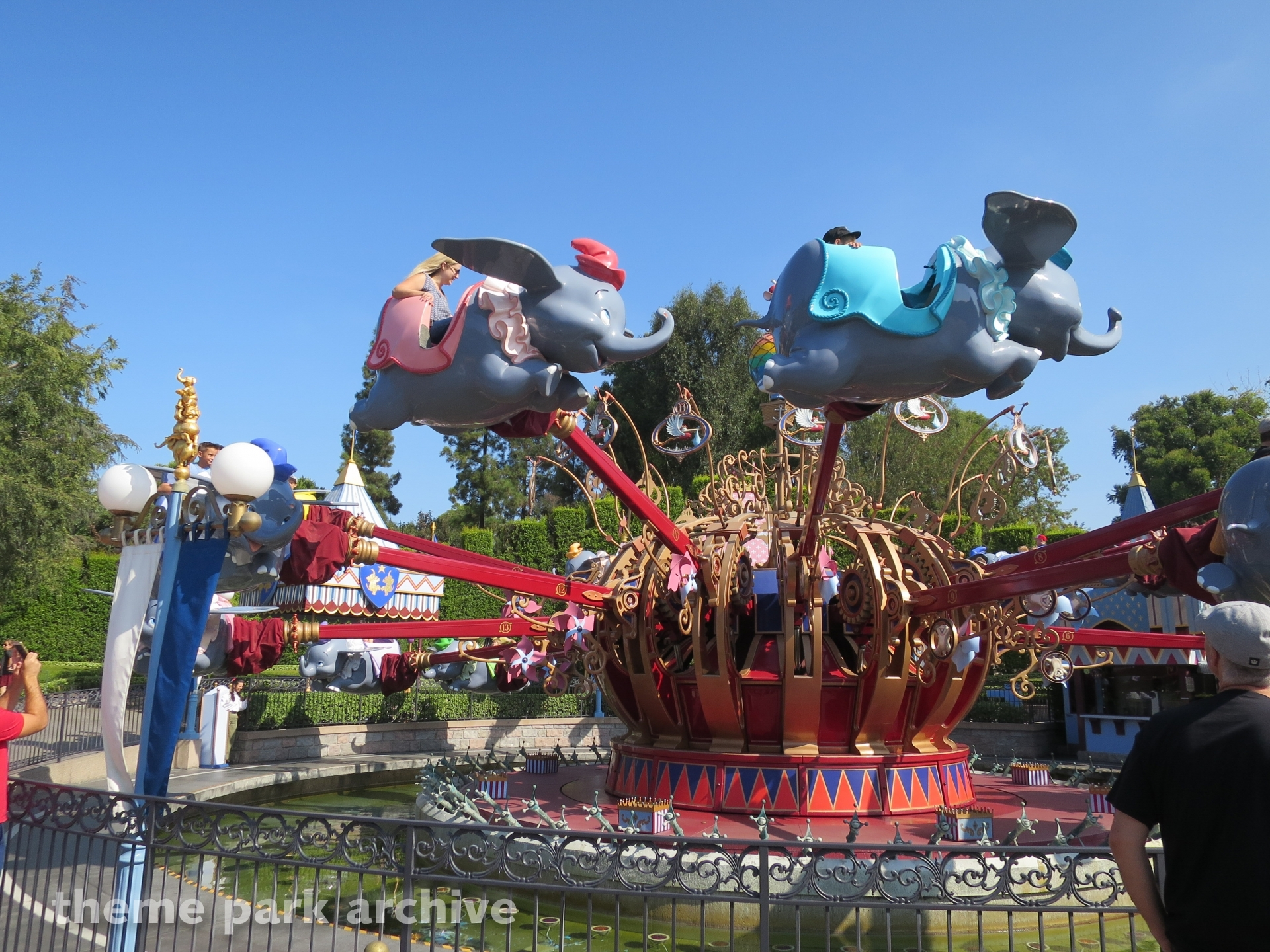 Dumbo the Flying Elephant at Disneyland