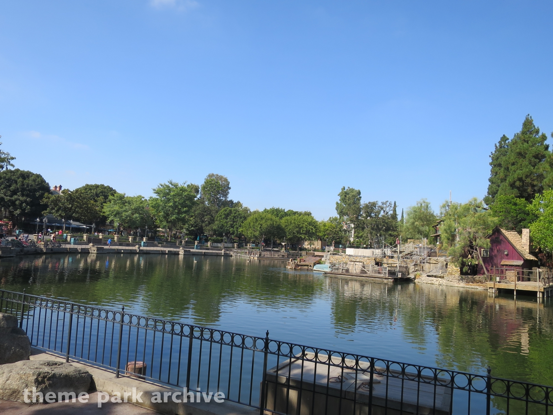 Pirate's Lair on Tom Sawyer Island at Disneyland