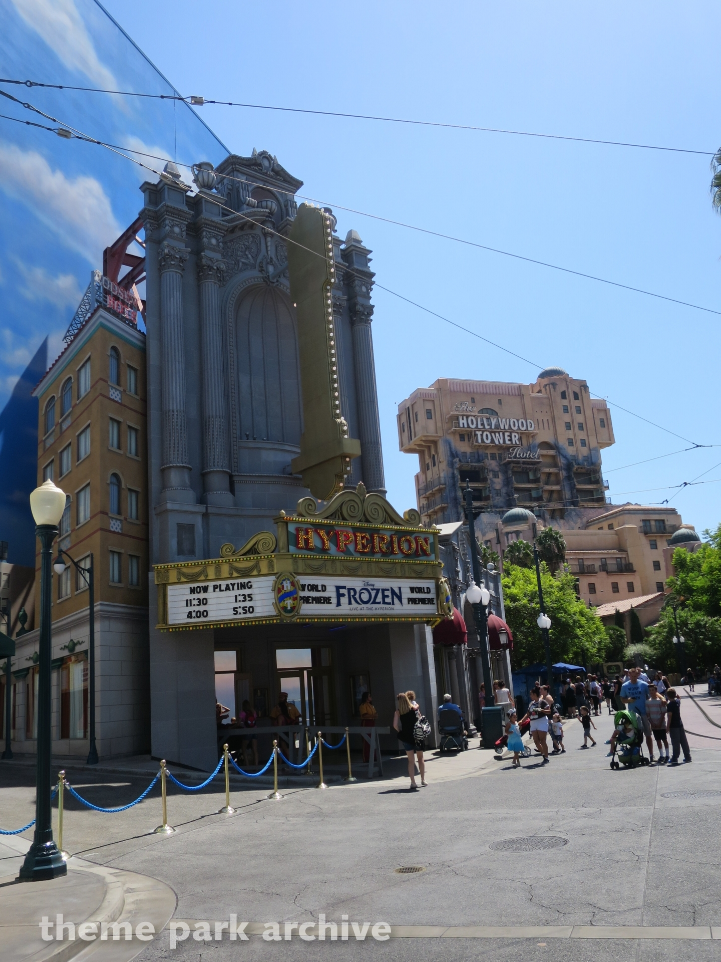 Hyperion Theatre At Disney California Adventure Theme
