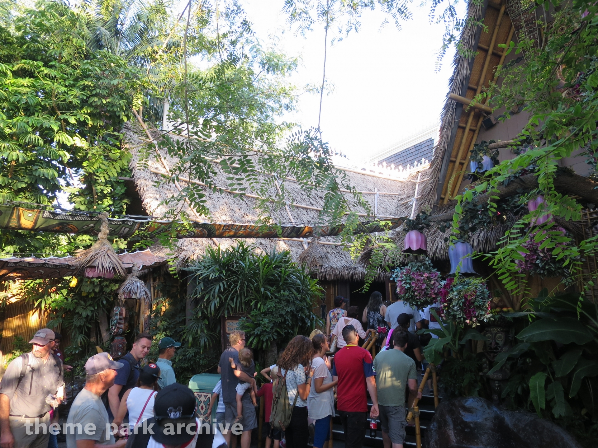 Enchanted Tiki Room at Disneyland