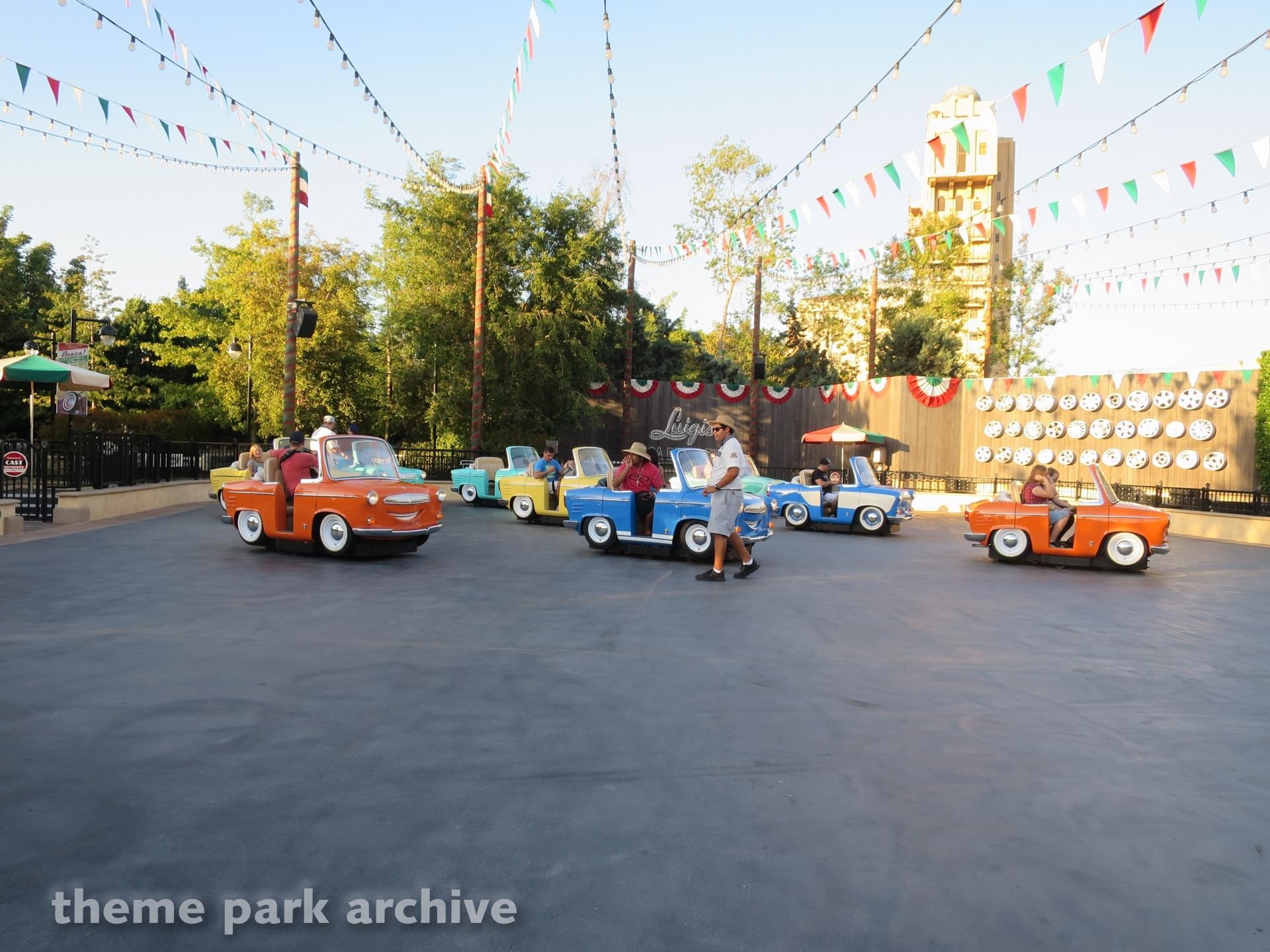 Luigi's Rollicking Roadsters at Disney California Adventure