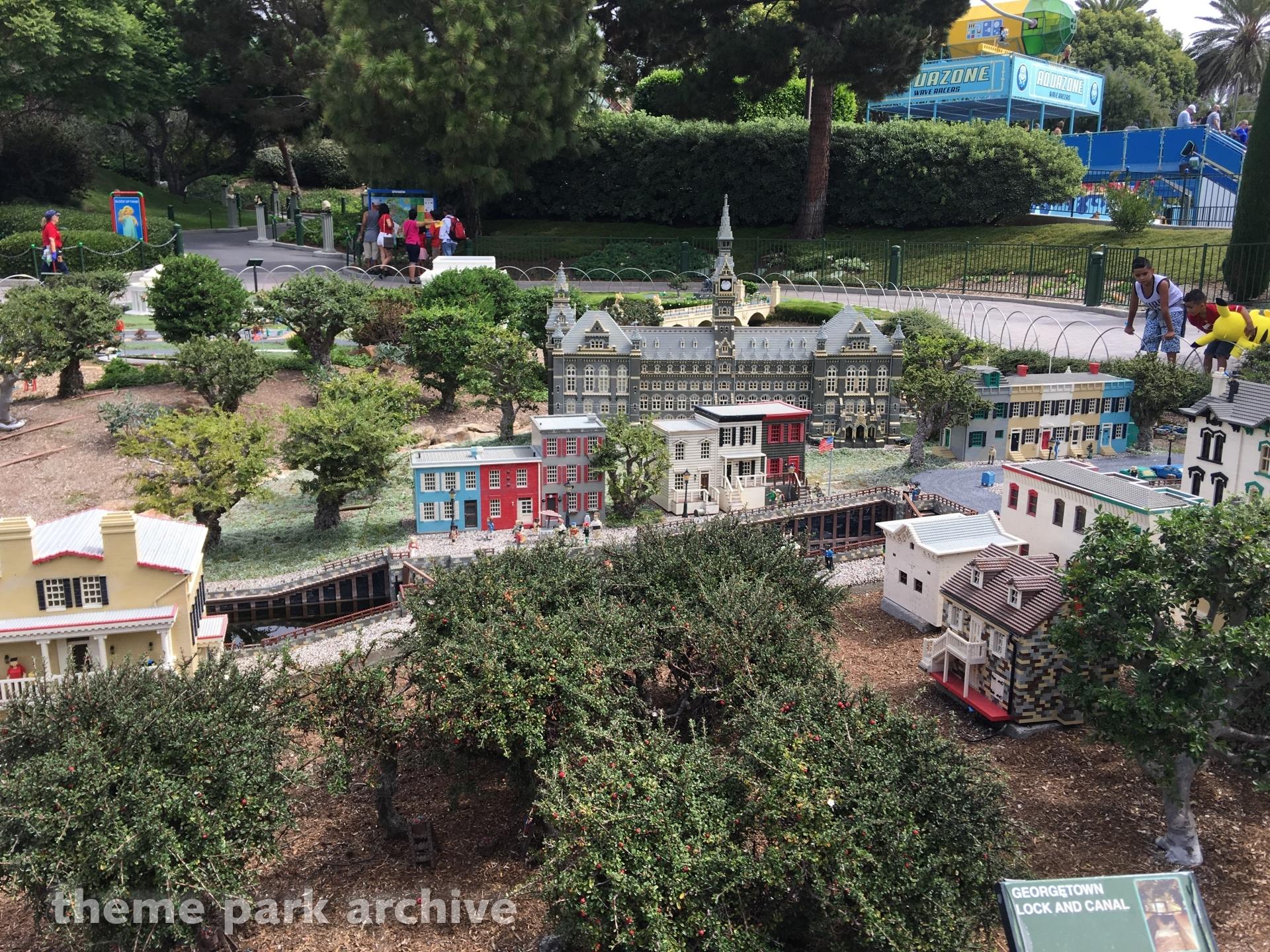 Miniland at LEGOLAND California