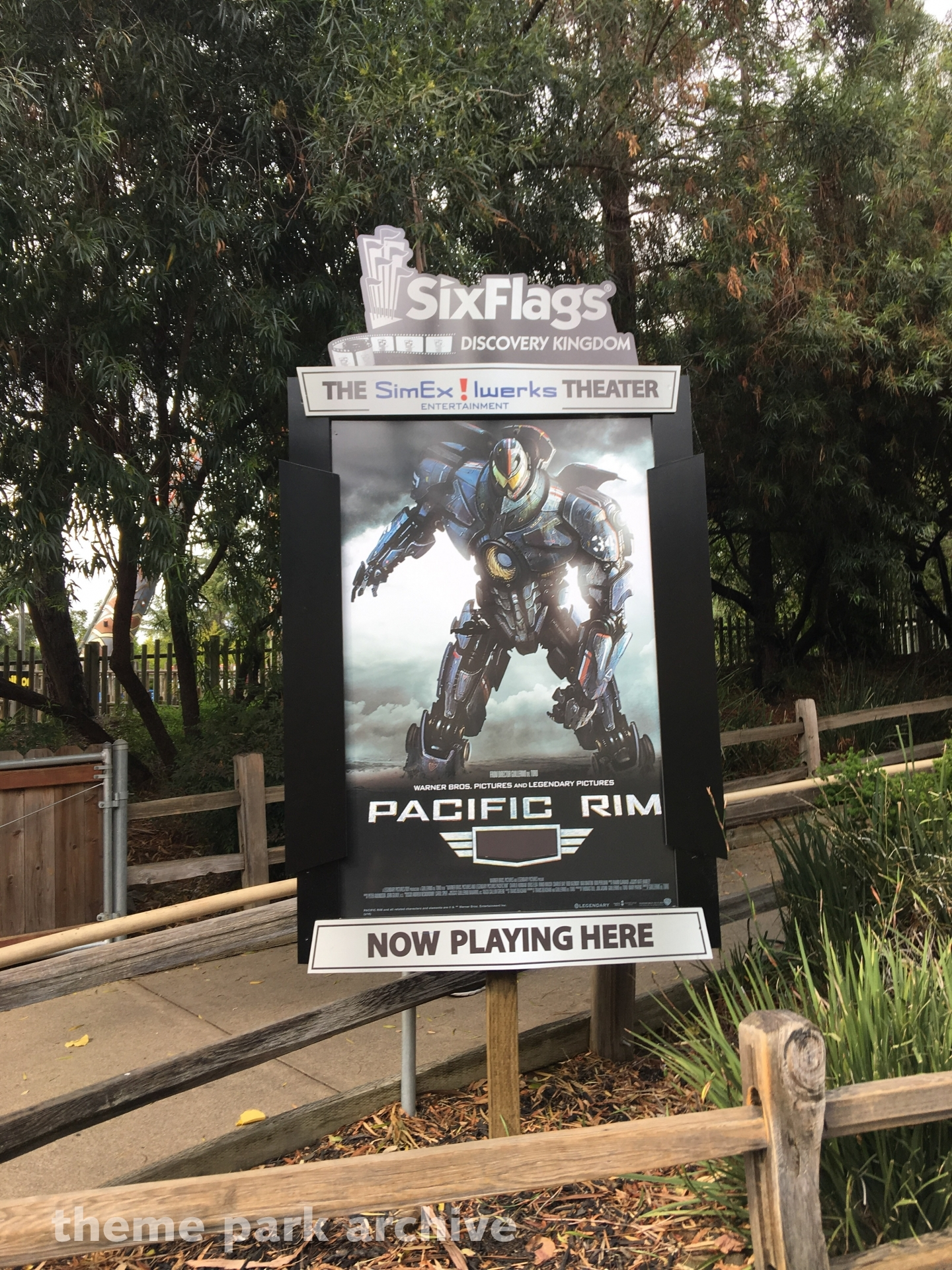 Pacific Rim at Six Flags Discovery Kingdom