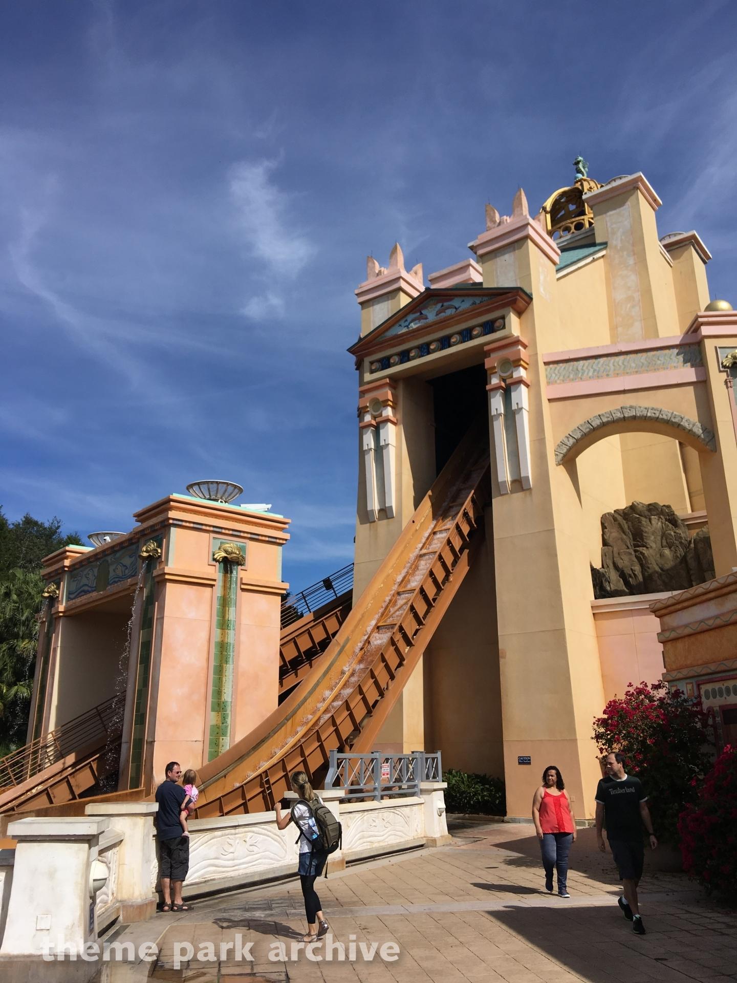 Journey to Atlantis at SeaWorld Orlando