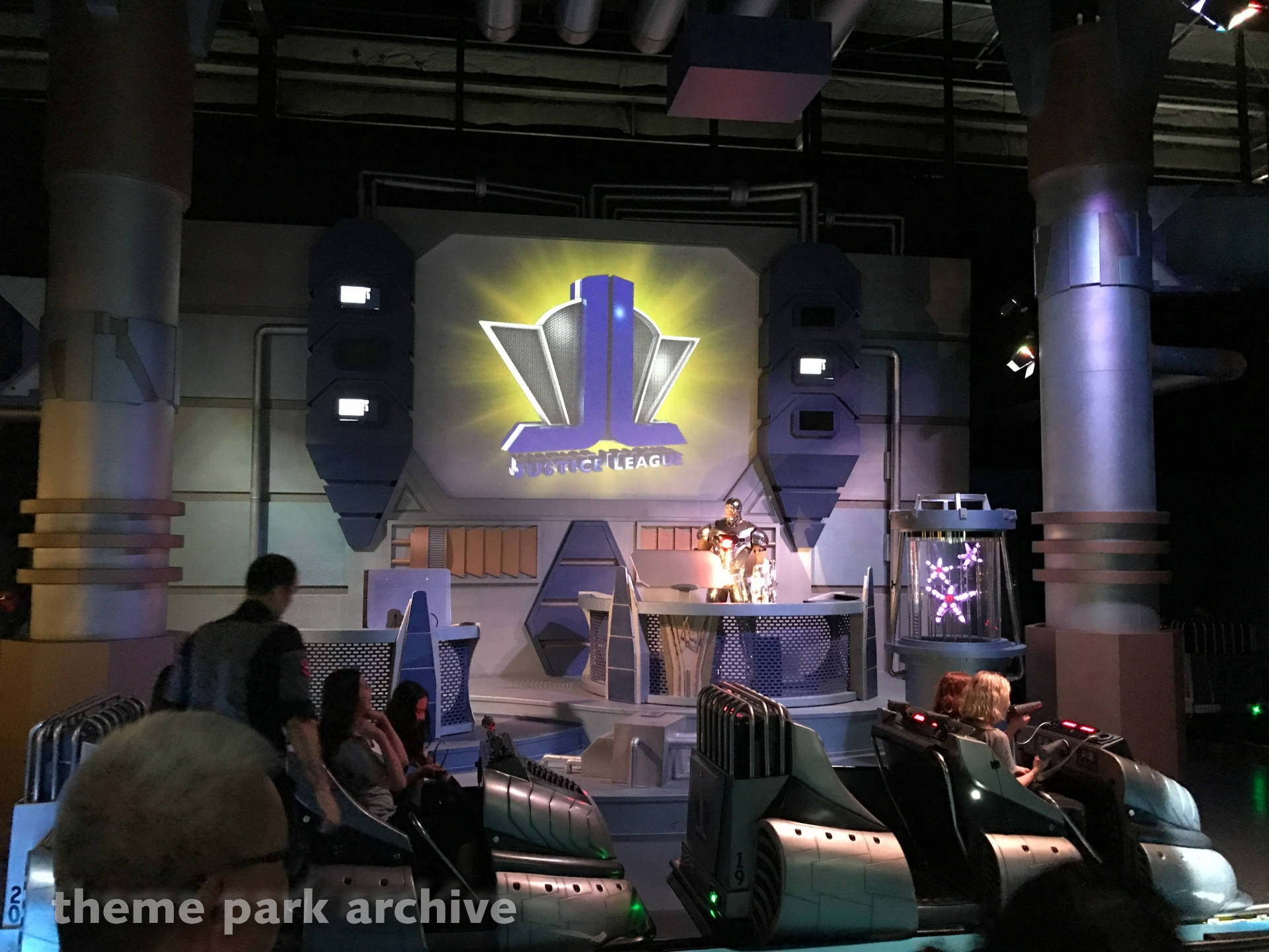 Justice League 3D The Ride at Warner Bros. Movie World