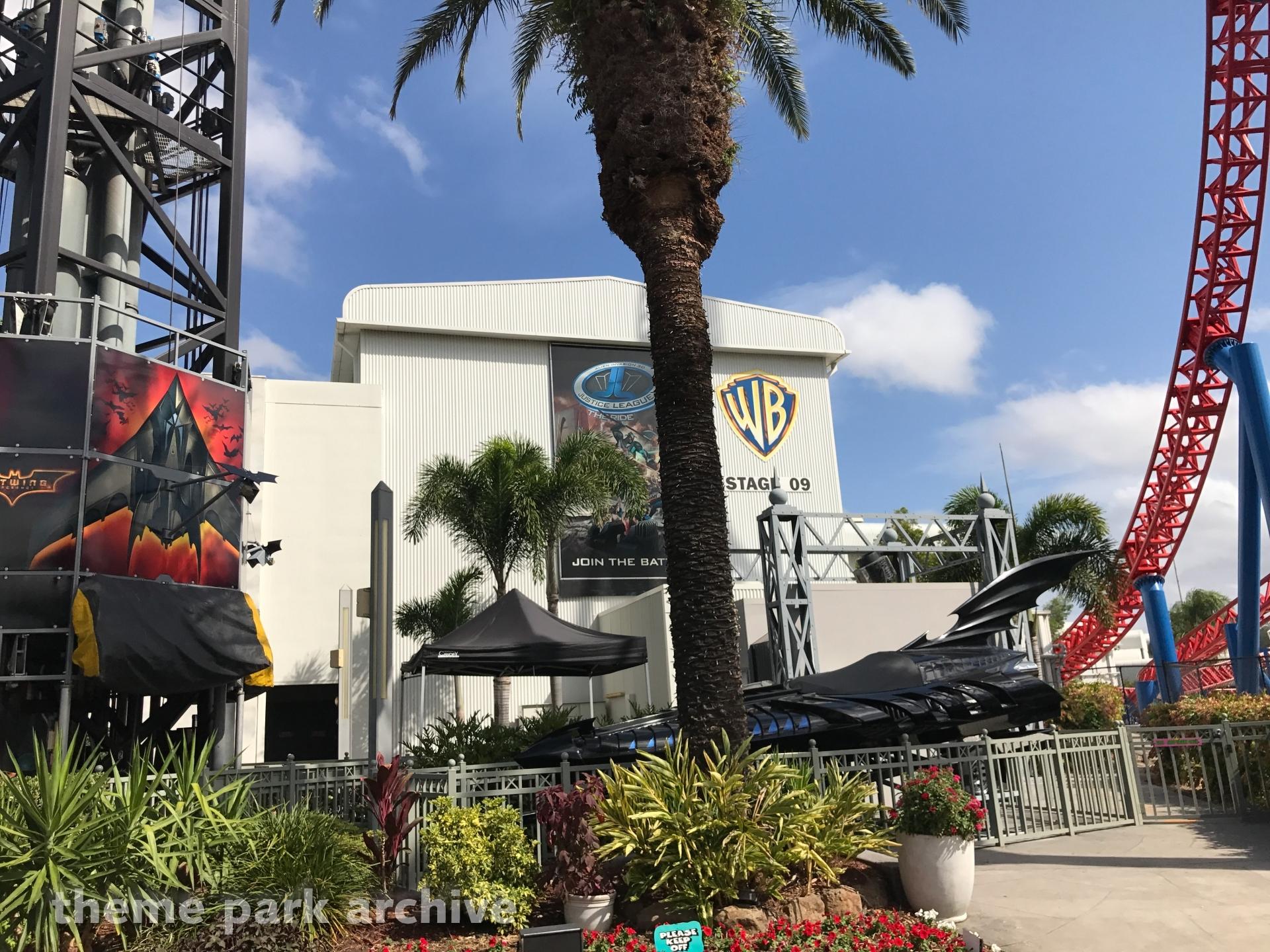 Superman Escape at Warner Bros. Movie World
