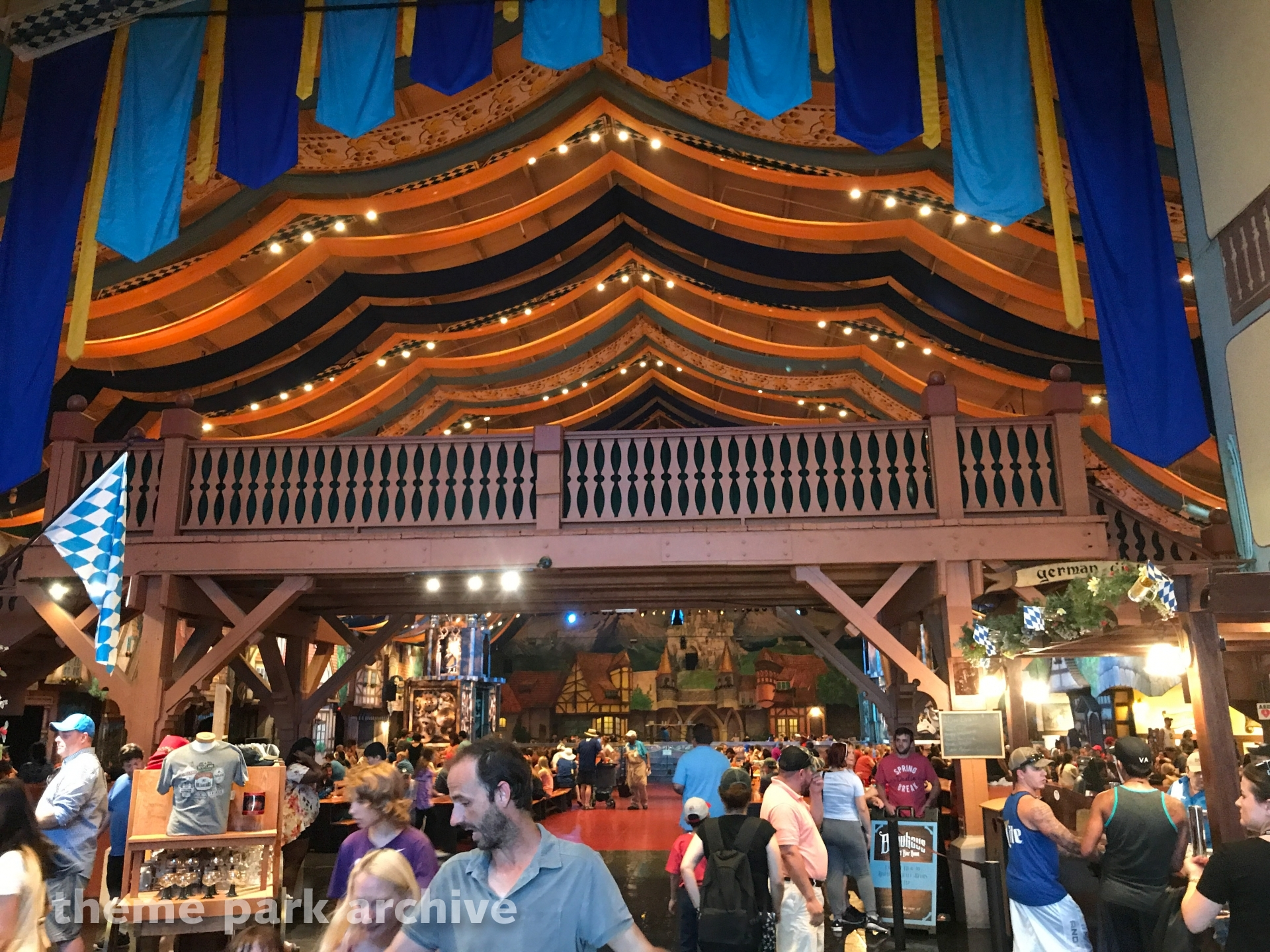 Festhaus at Busch Gardens Williamsburg
