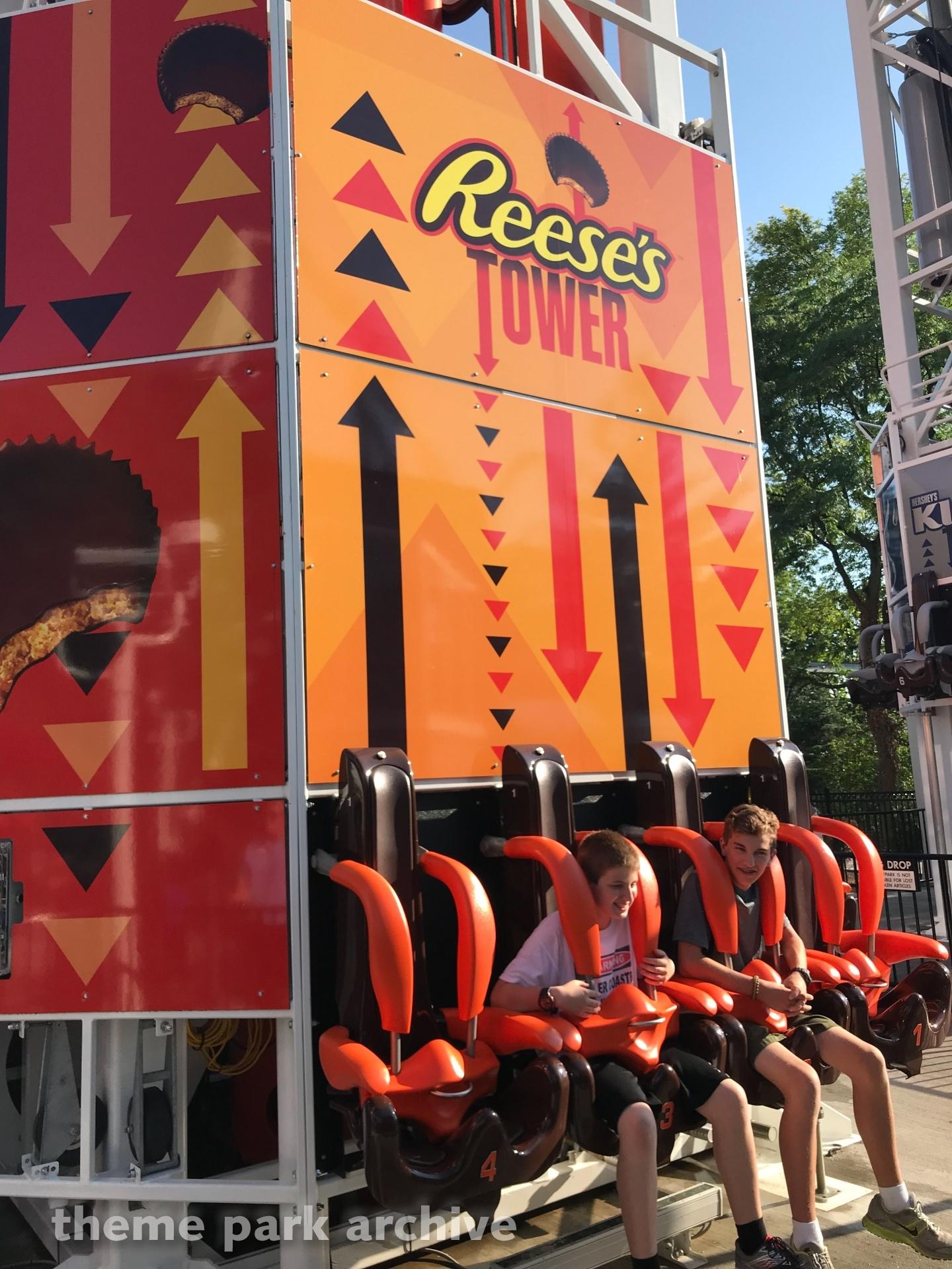 Hershey Triple Tower at Hersheypark