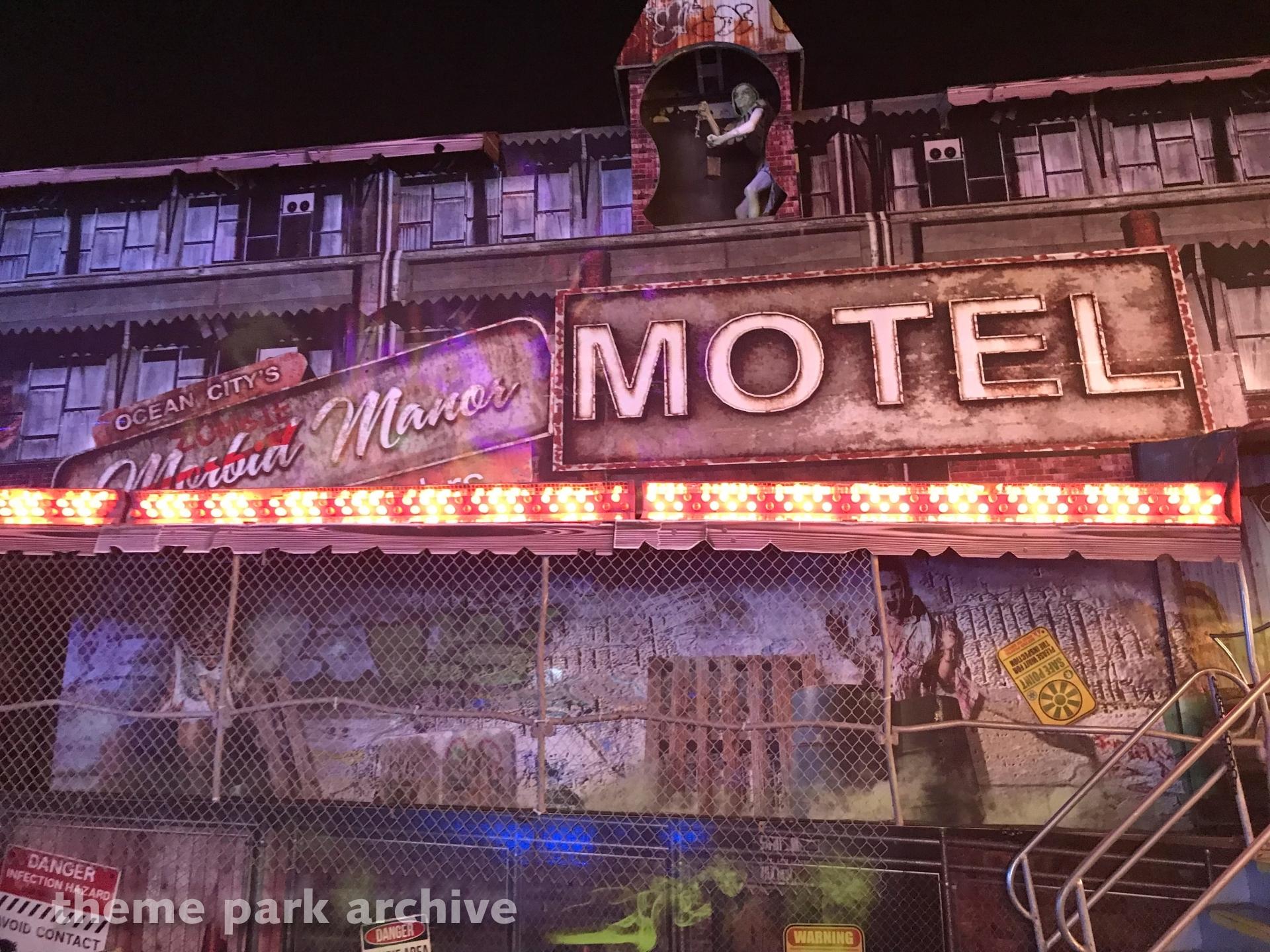 Morbid Manor at Jolly Roger at the Pier Amusements