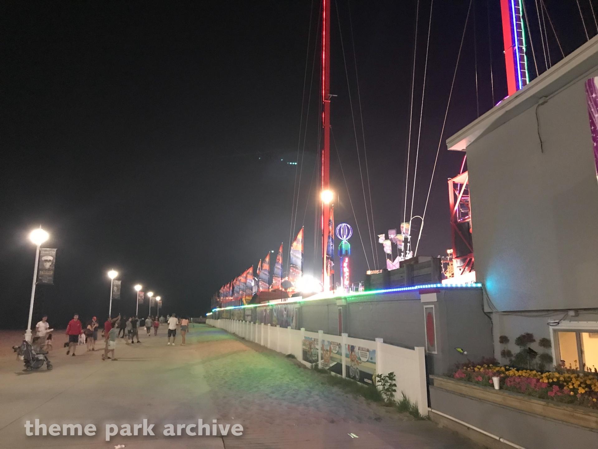 Slingshot at Jolly Roger at the Pier Amusements