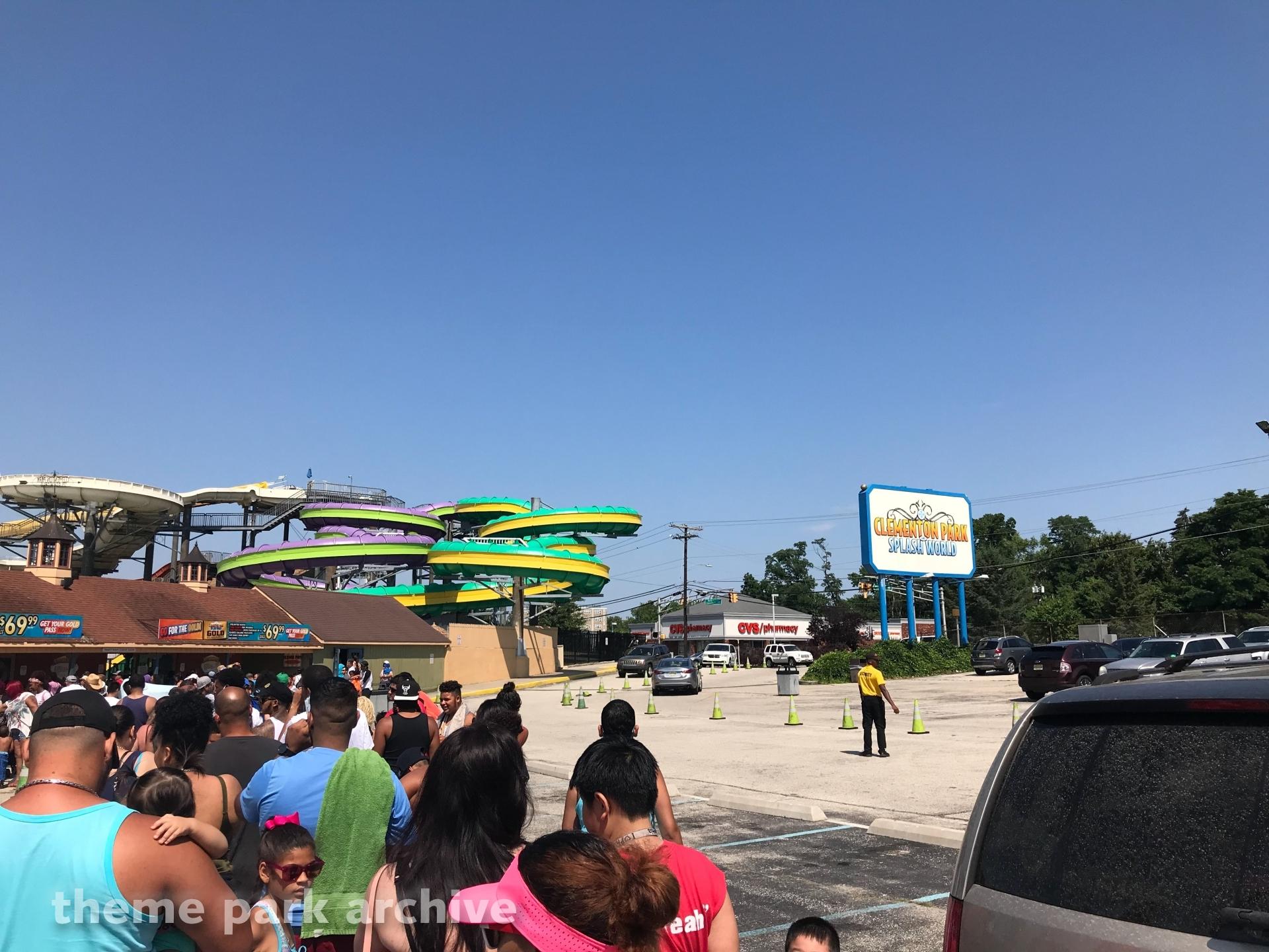 Entrance at Clementon Park & Splash World