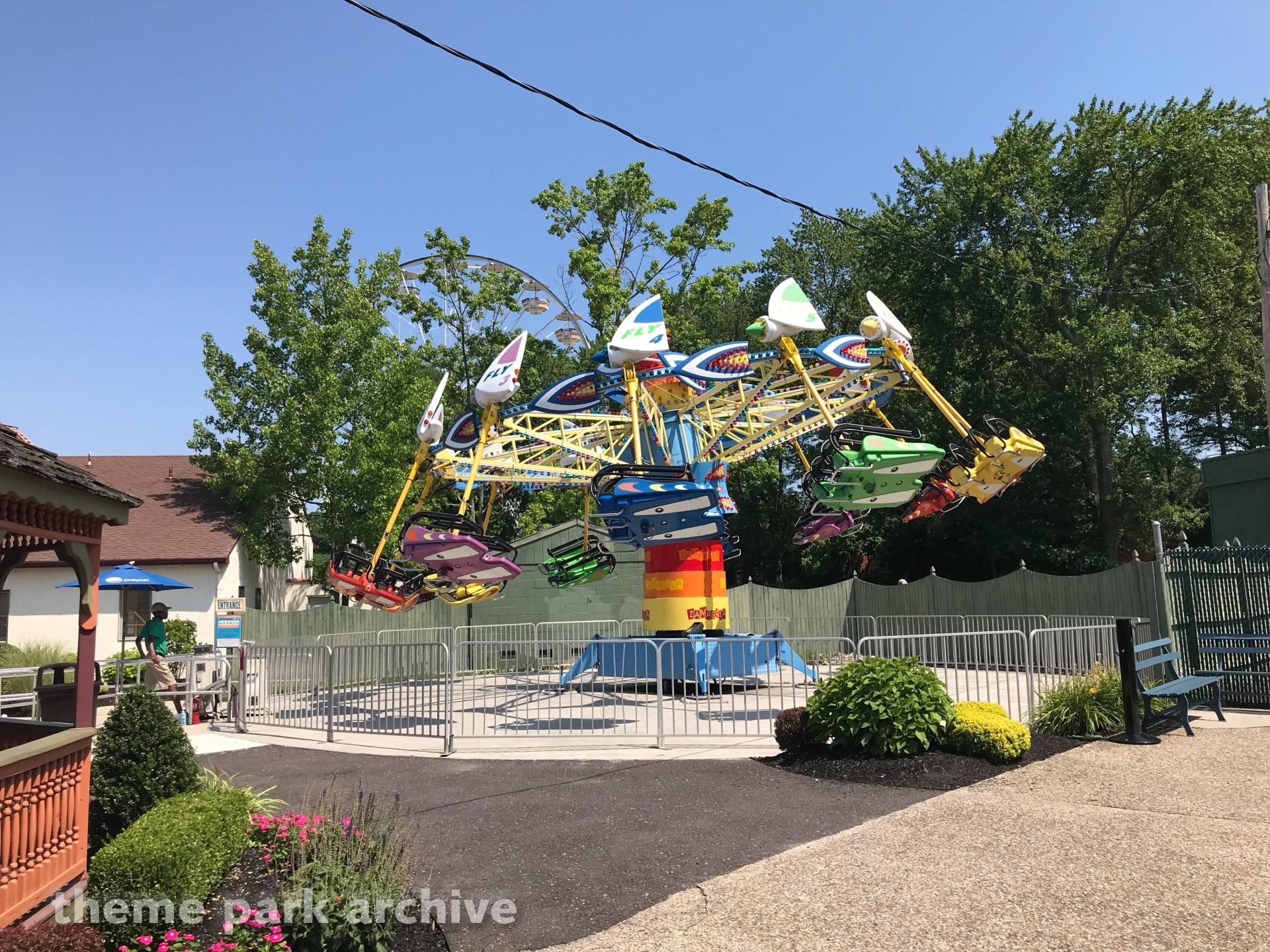 Kite Flyer at Clementon Park & Splash World
