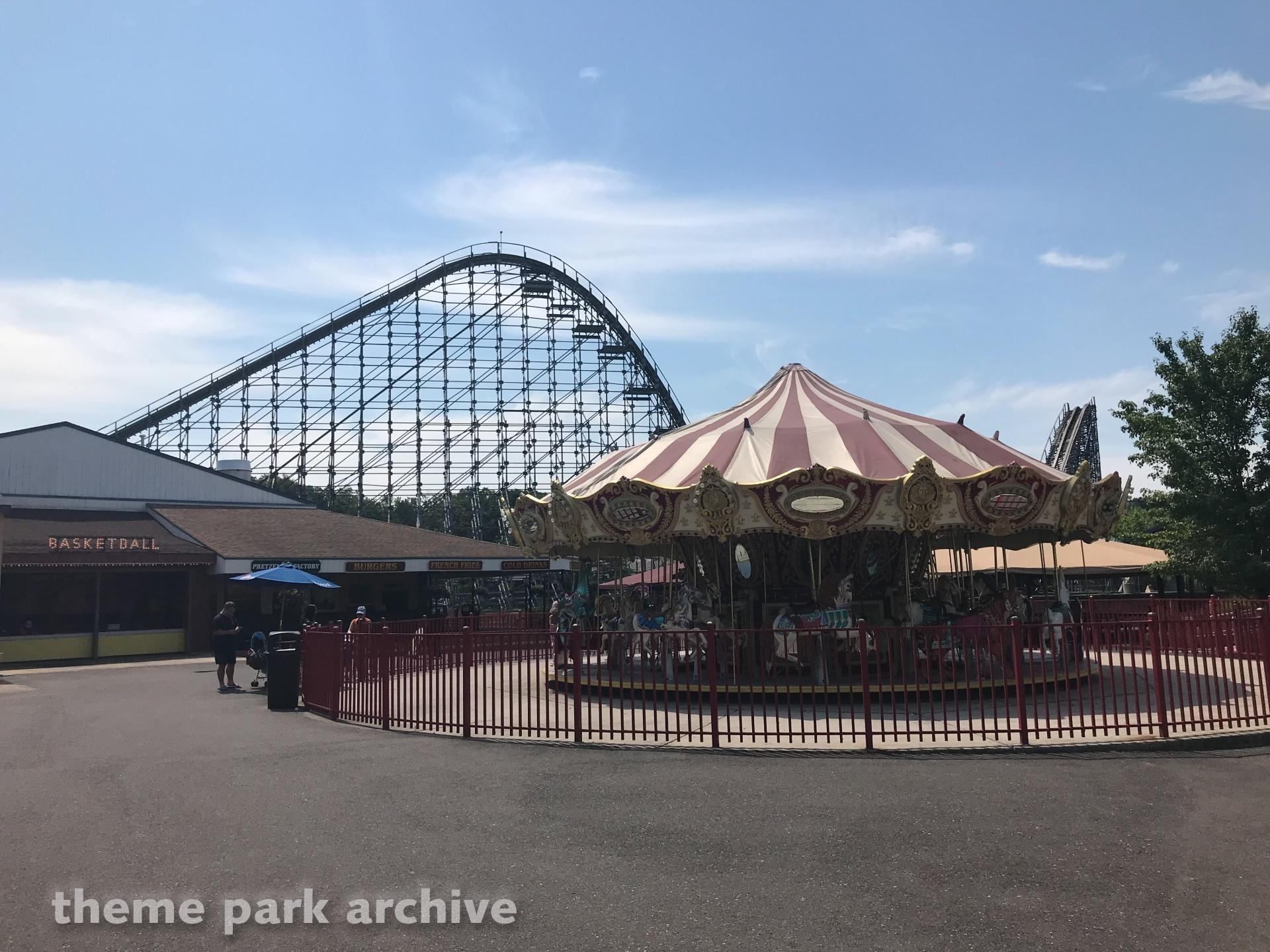 Carousel at Clementon Park & Splash World