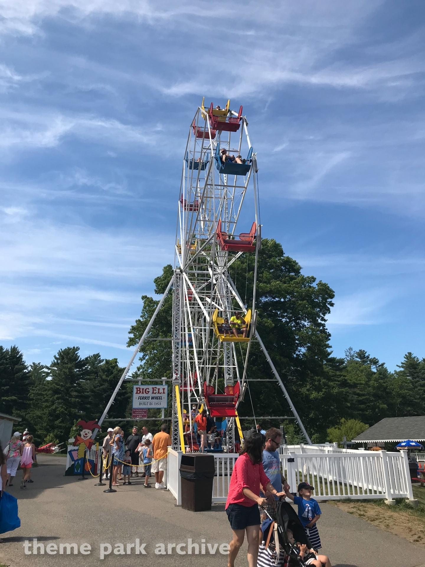 Big Eli: The Ferris Wheel at Edaville Family Amusement Park