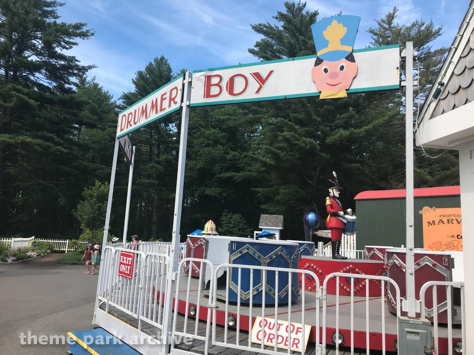 Little Drummer Boy at Edaville Family Amusement Park