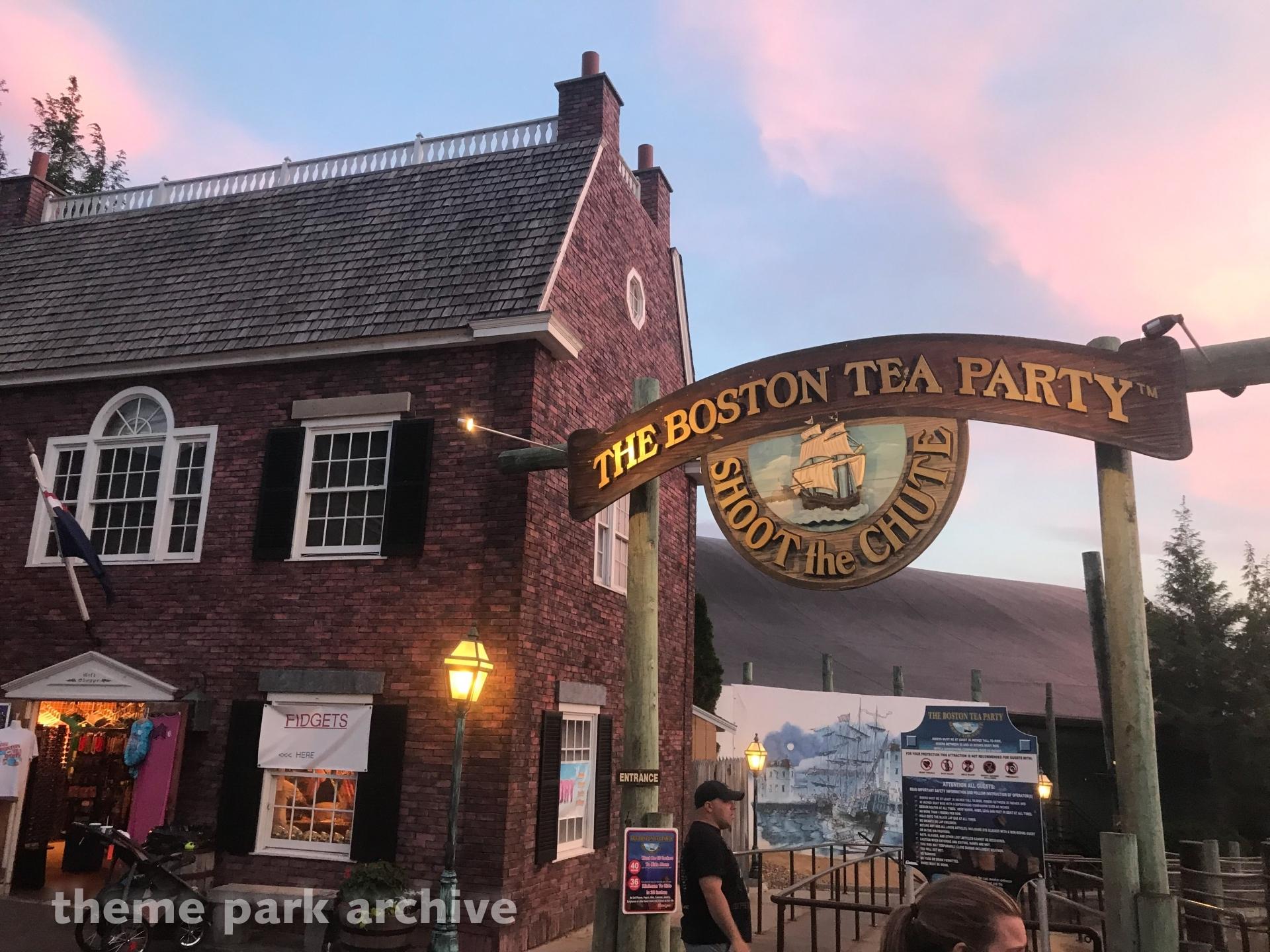Boston Tea Party at Canobie Lake Park
