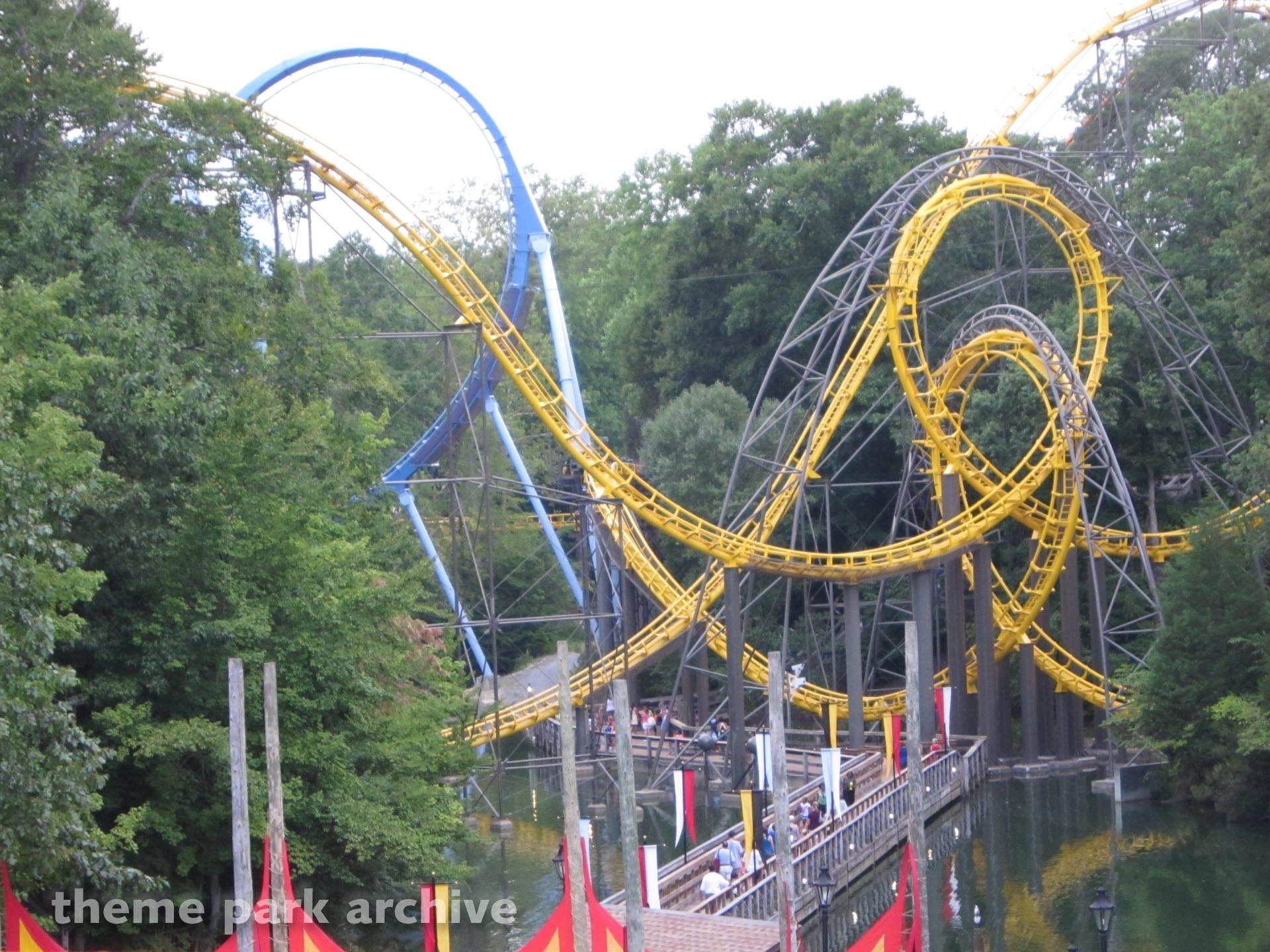 Loch Ness Monster at Busch Gardens Williamsburg