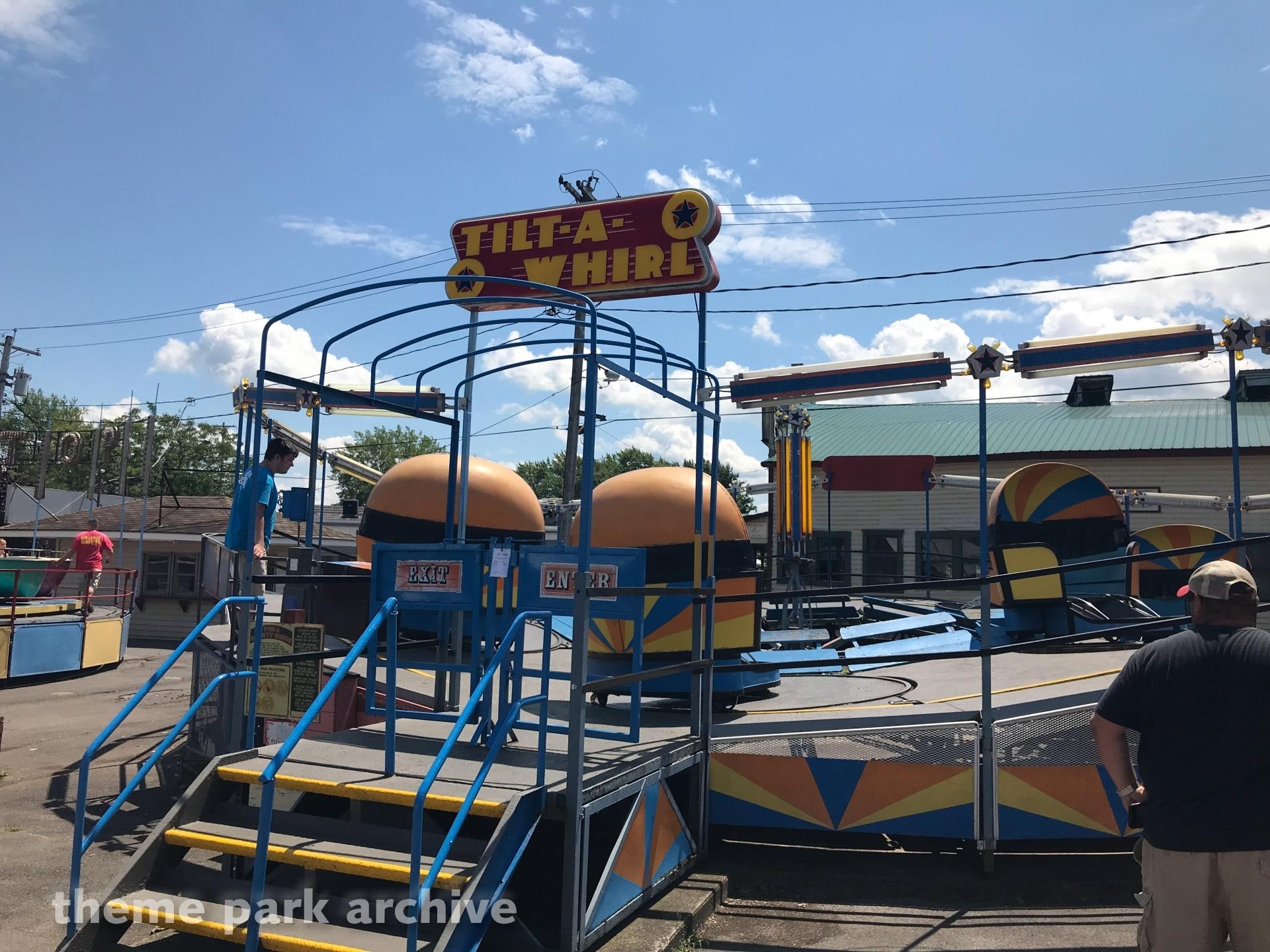 tilt a whirl sylvan beach amusement park