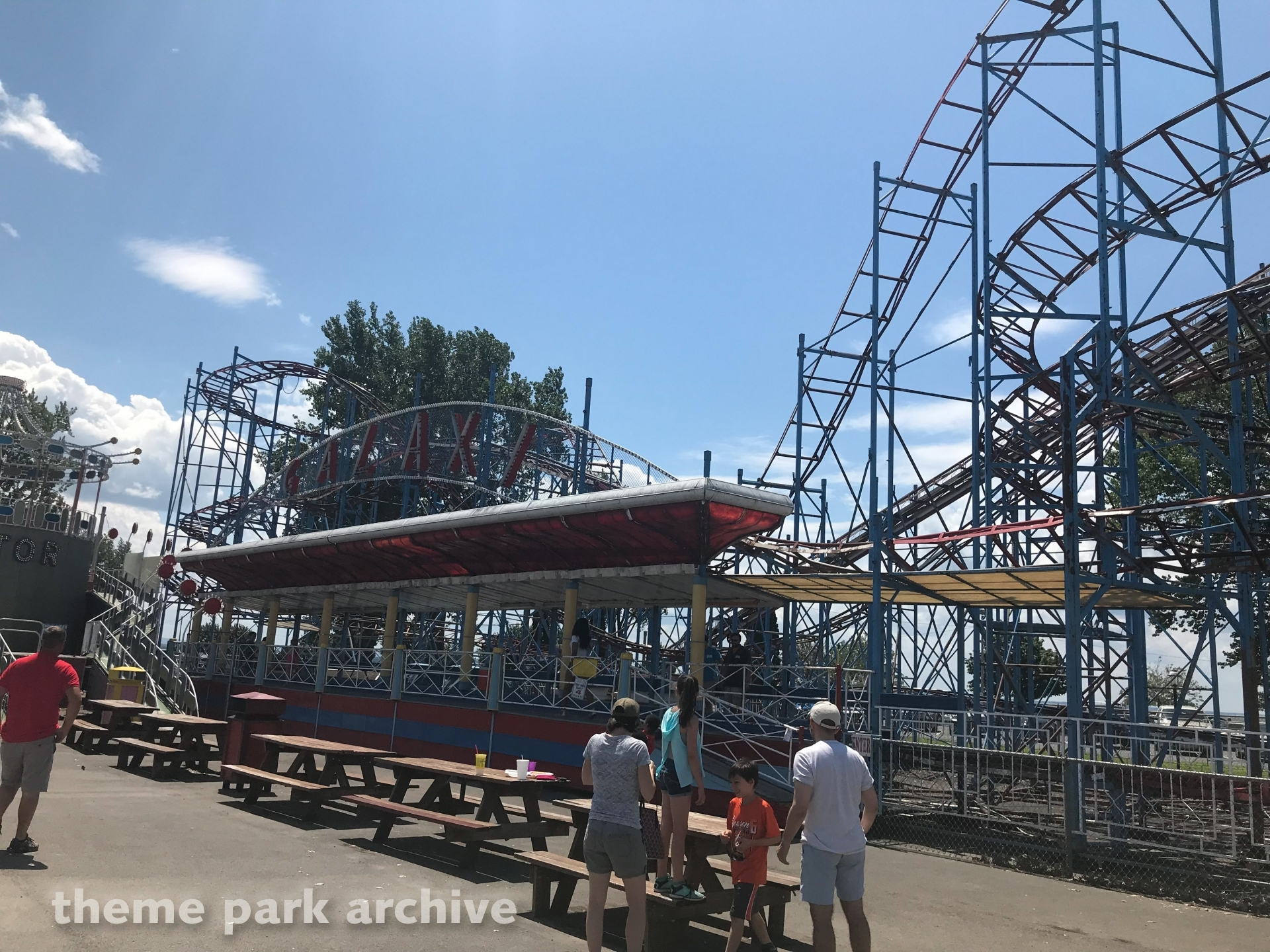 galaxi coaster sylvan beach amusement park