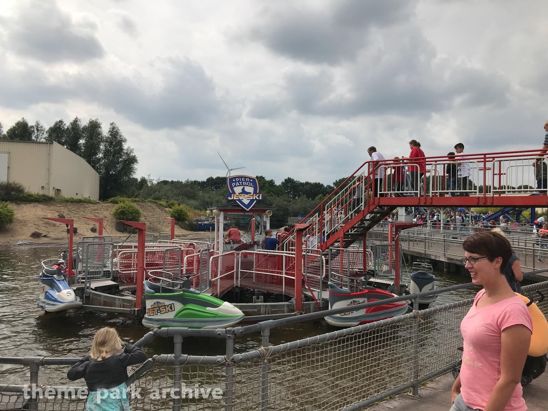 Pier Patrol Jet Ski at Movie Park Germany