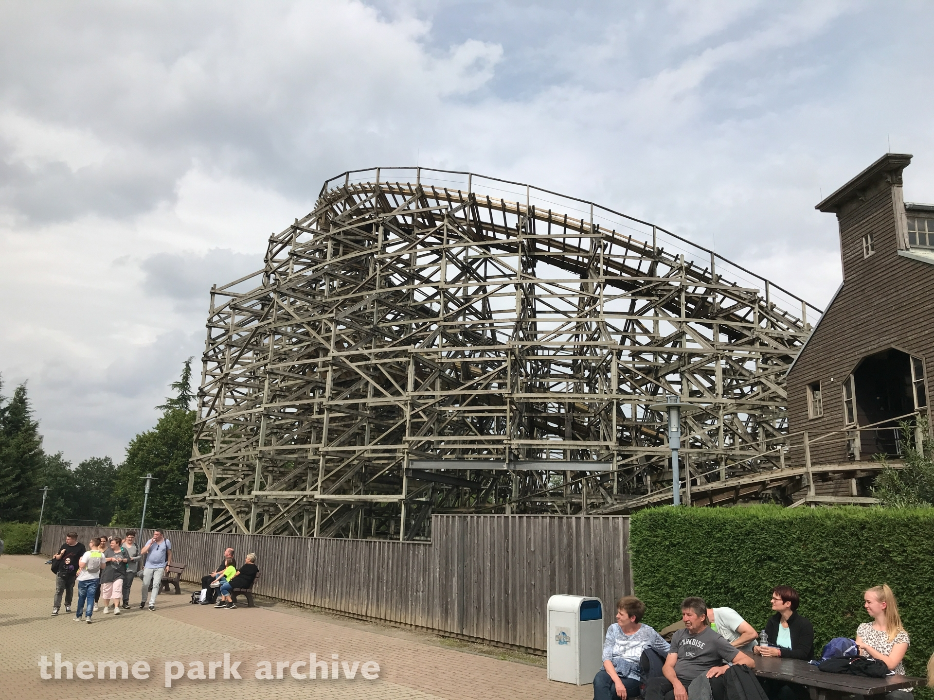 The Bandit at Movie Park Germany